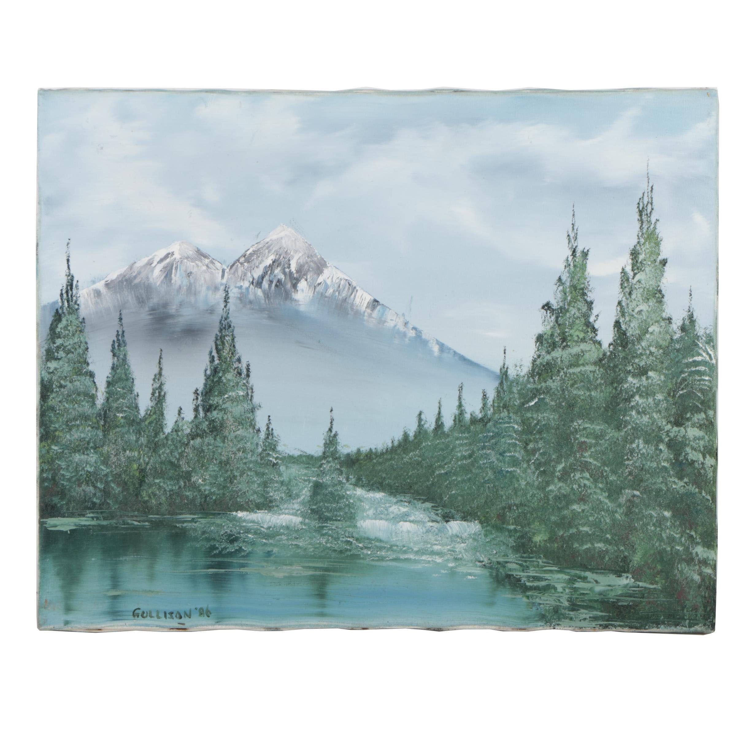 Allen Gullison Landscape Oil Painting