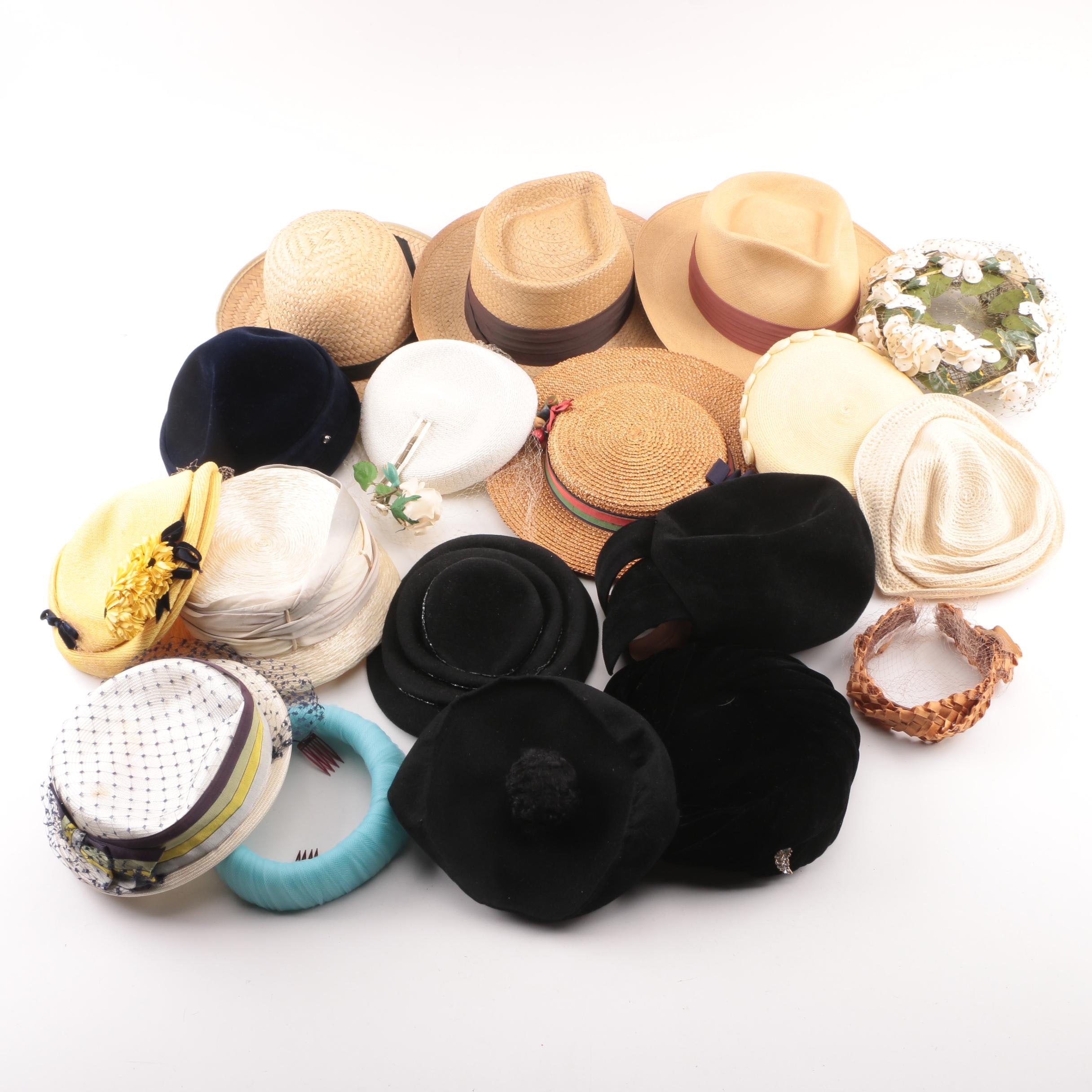 Men's and Women's Hats including Vintage