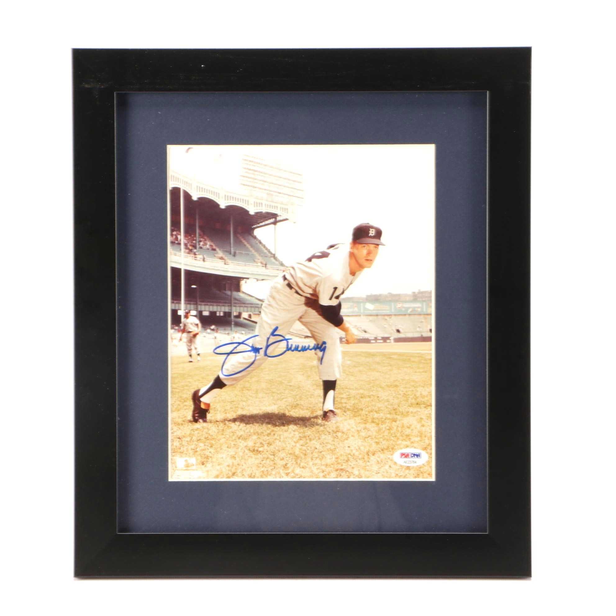 Jim Bunning Signed Photo  COA