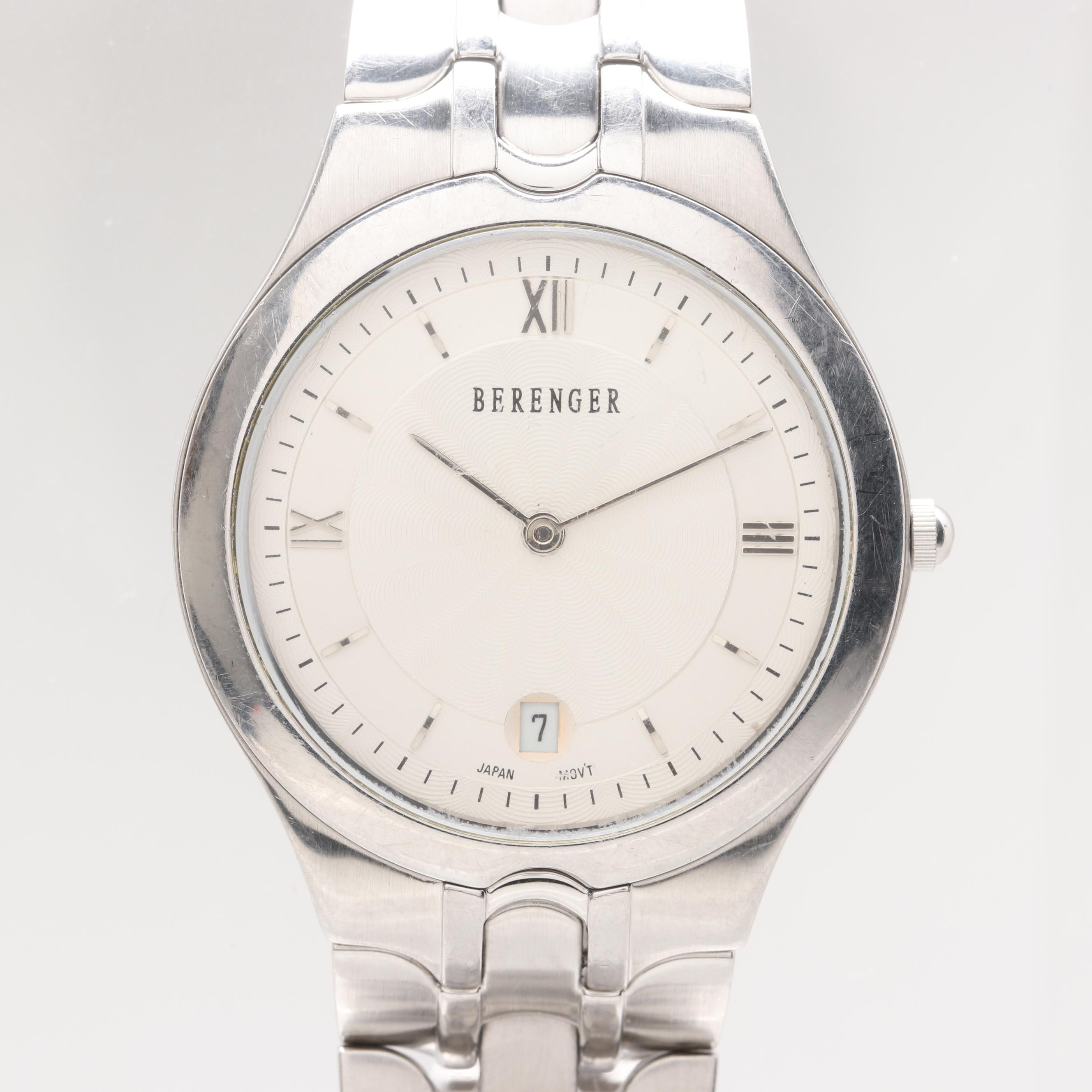 Berenger Stainless Steel Wristwatch