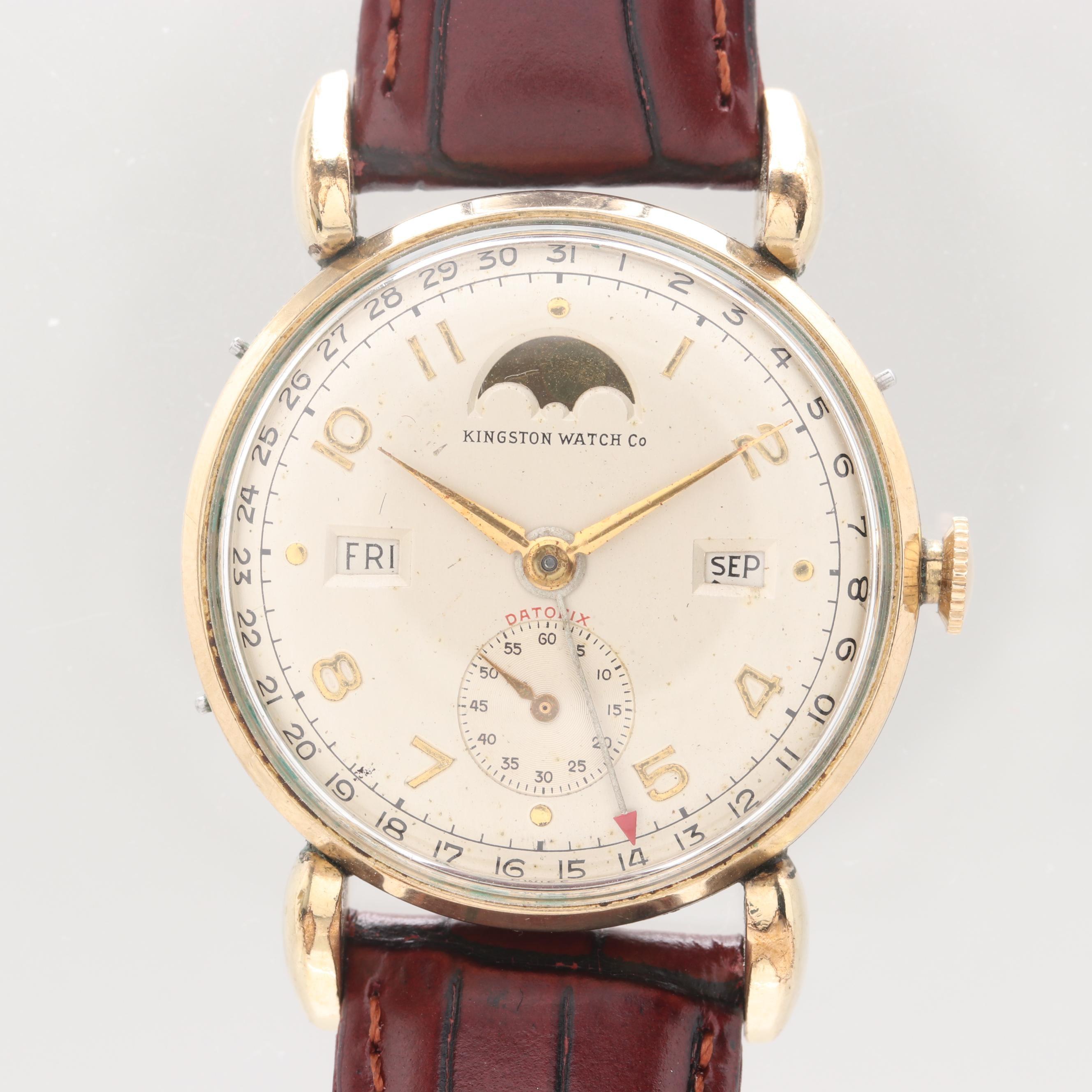Kingston Watch Company Datofix Wristwatch