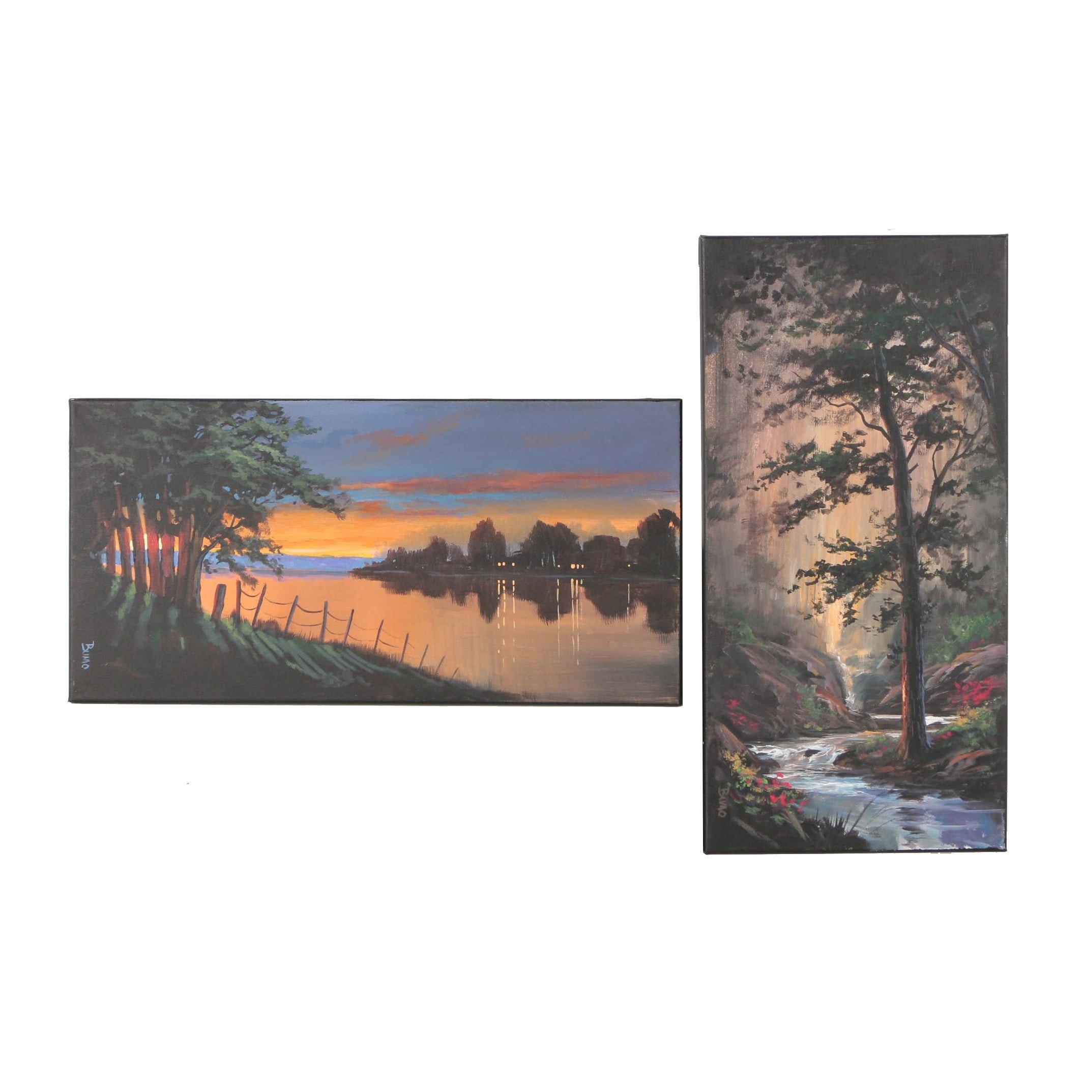 Bumo Landscape Oil Paintings