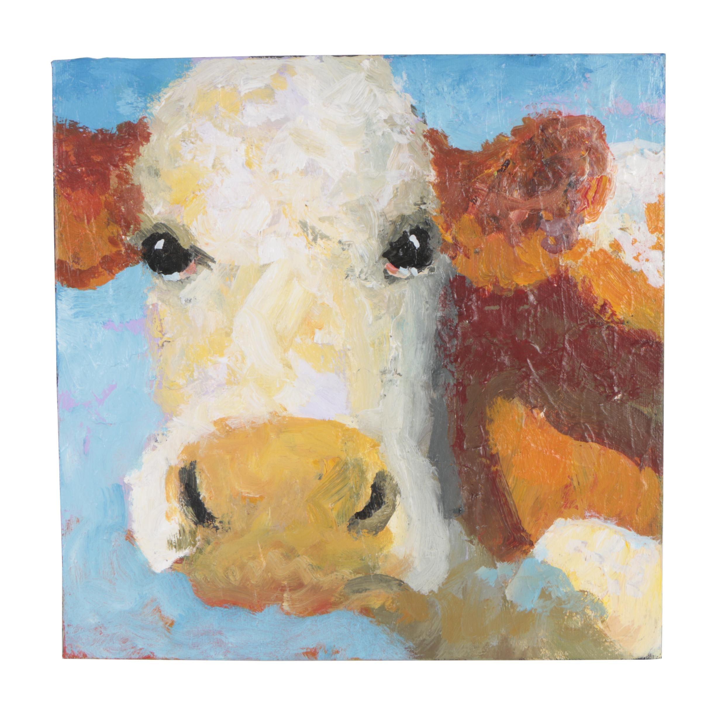 Elle Raines Acrylic Painting