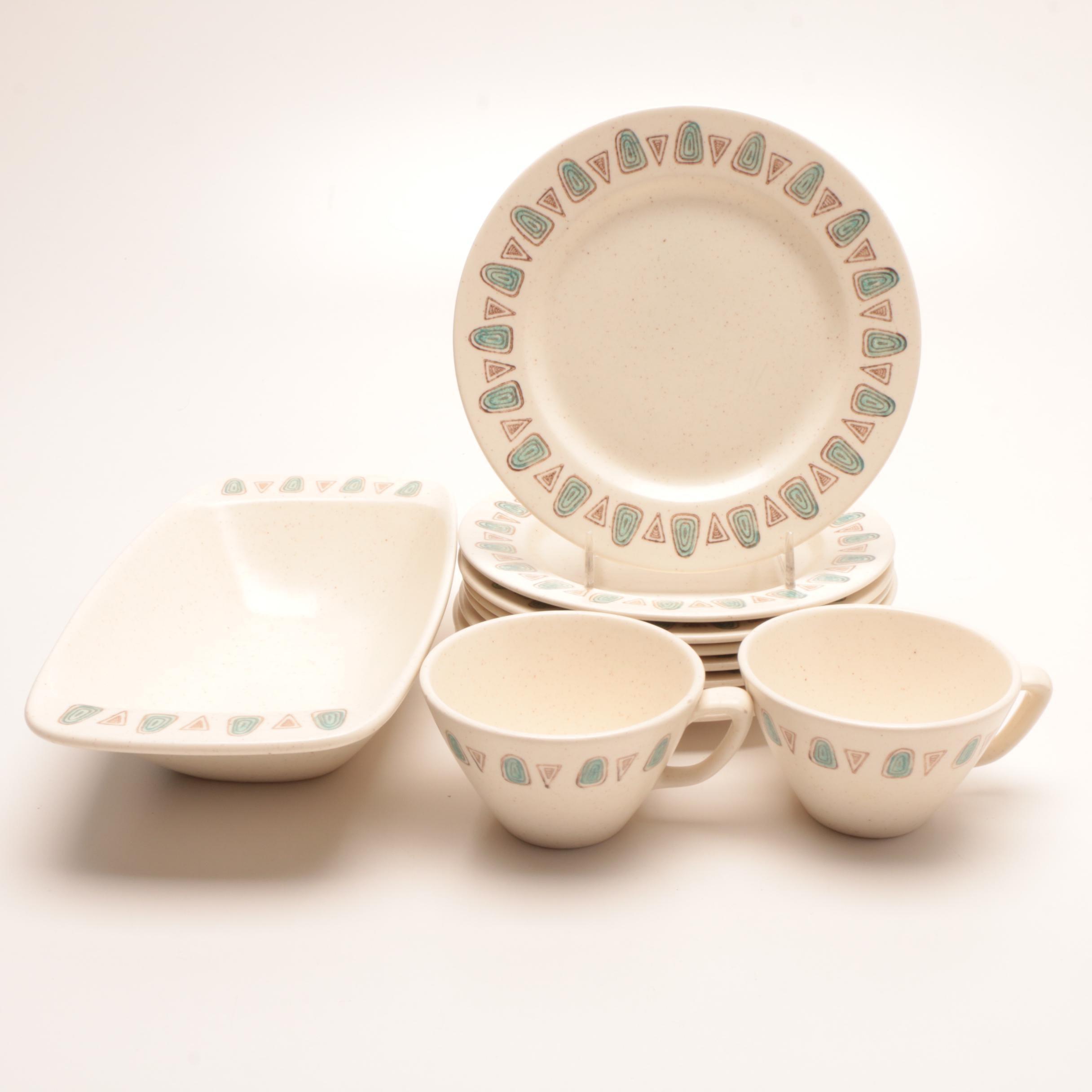 "Metlox ""Poppytrail"" Ceramic Tableware"
