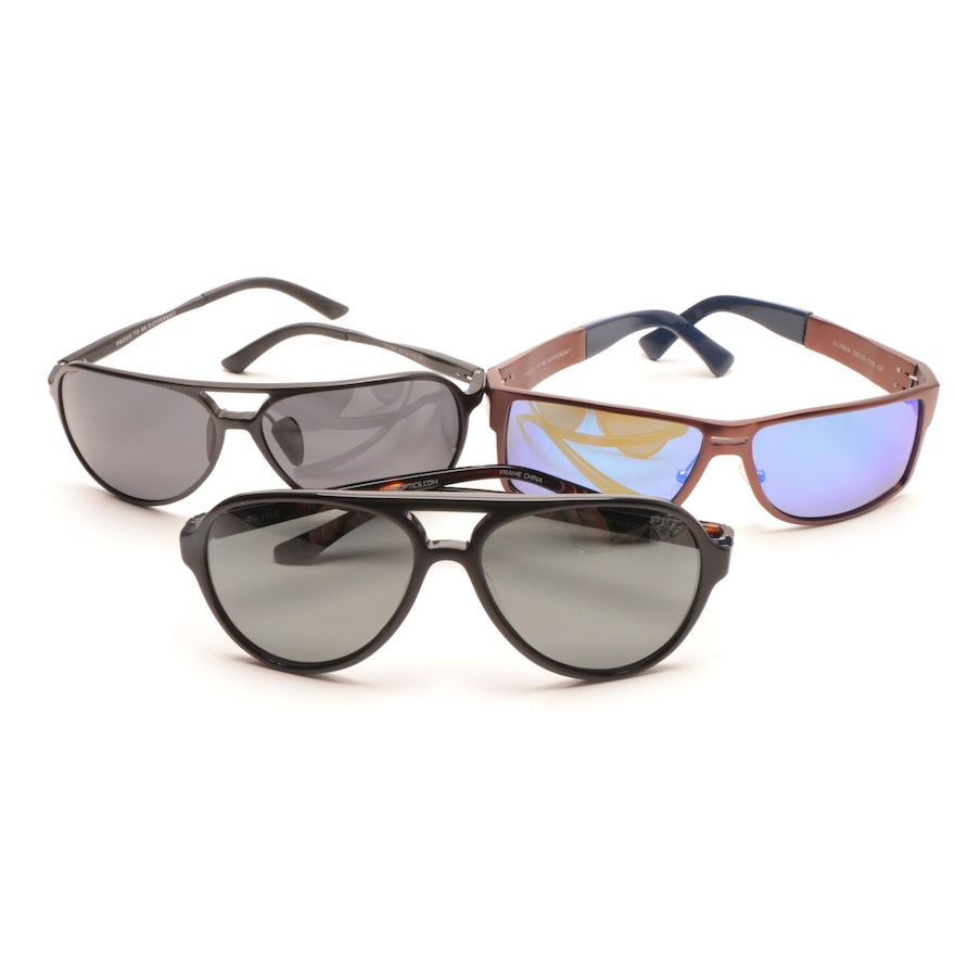 b0d0d03429 Breed and Spine Sunglasses   EBTH