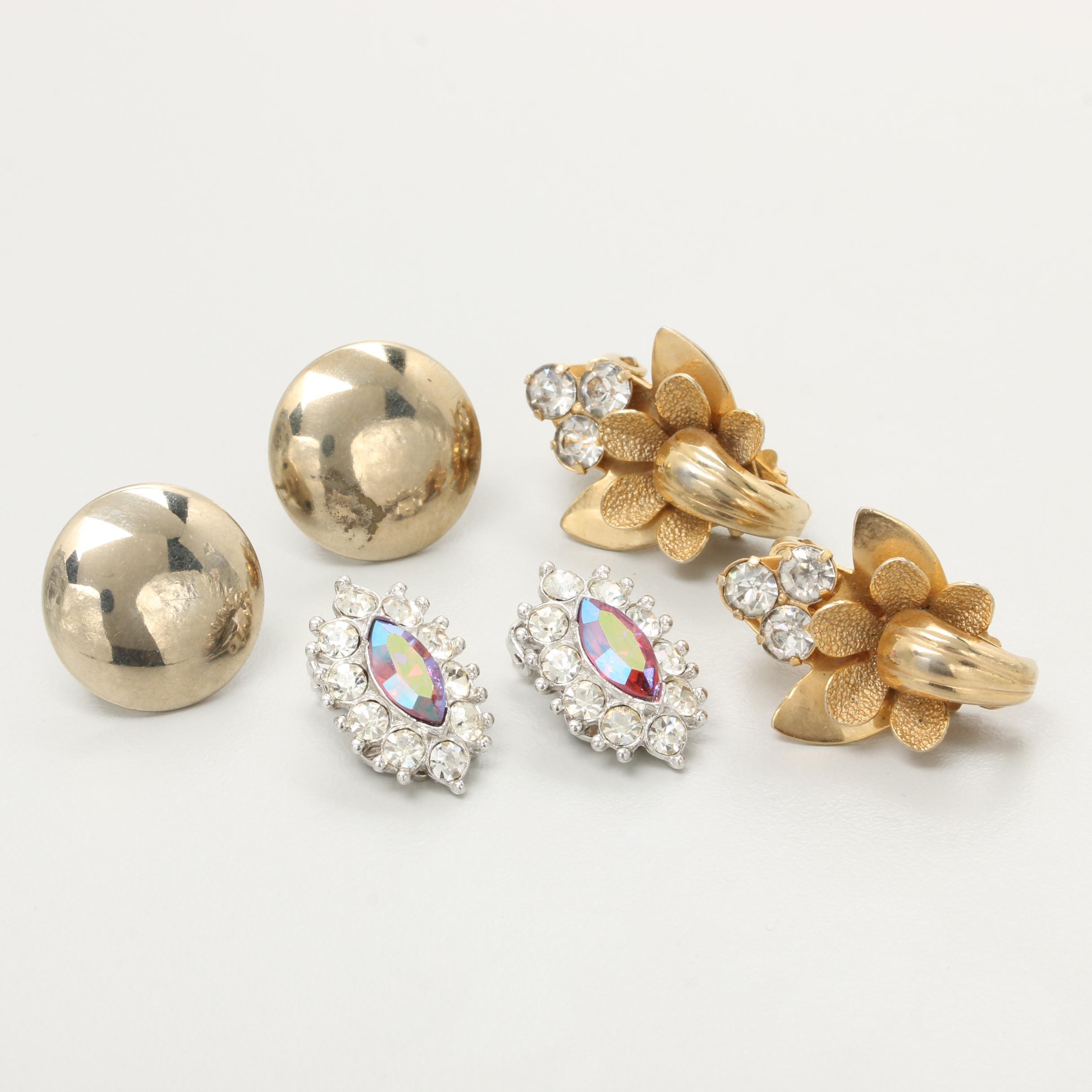 Vintage Earring Selection Including Bogoff