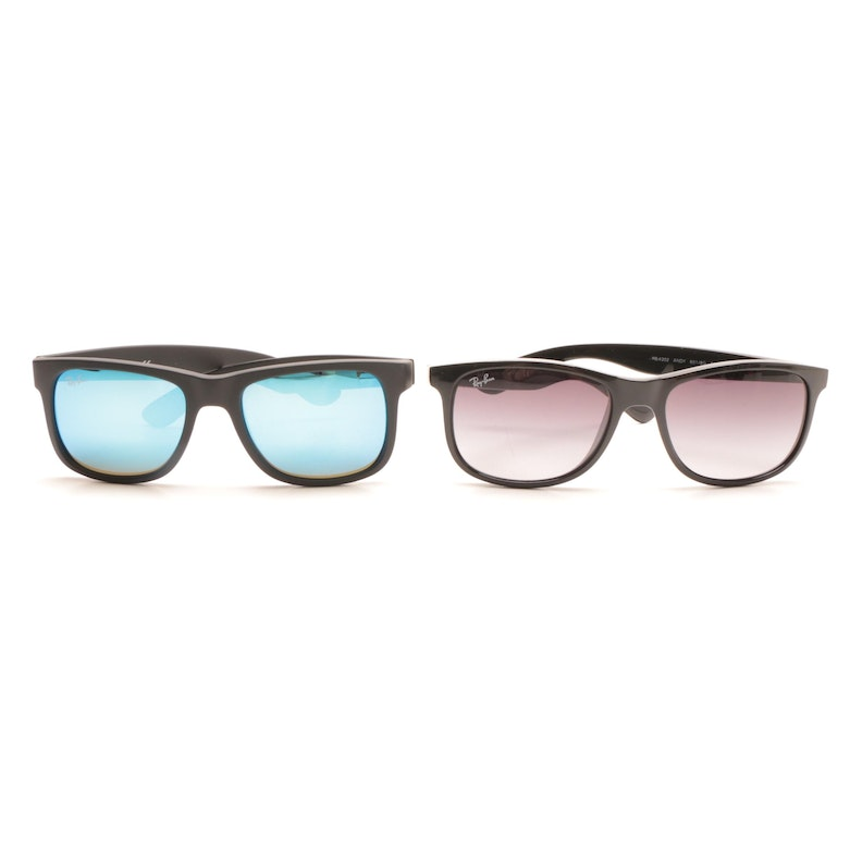 c7eb1de1914 Ray-Ban Andy and Justin Sunglasses   EBTH
