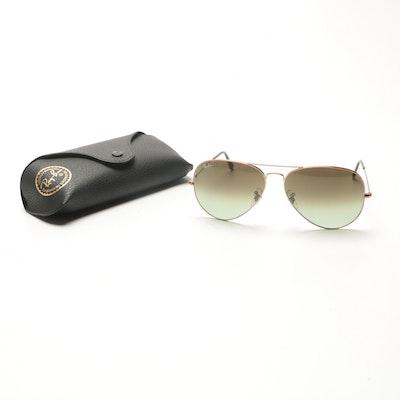 601c0238b7e8 Tiffany   Co. Aviator Sunglasses With Case   EBTH