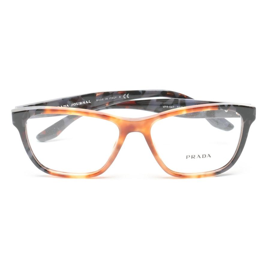 062d1b087241 Prada Journal Horn-Rimmed Eyeglasses   EBTH
