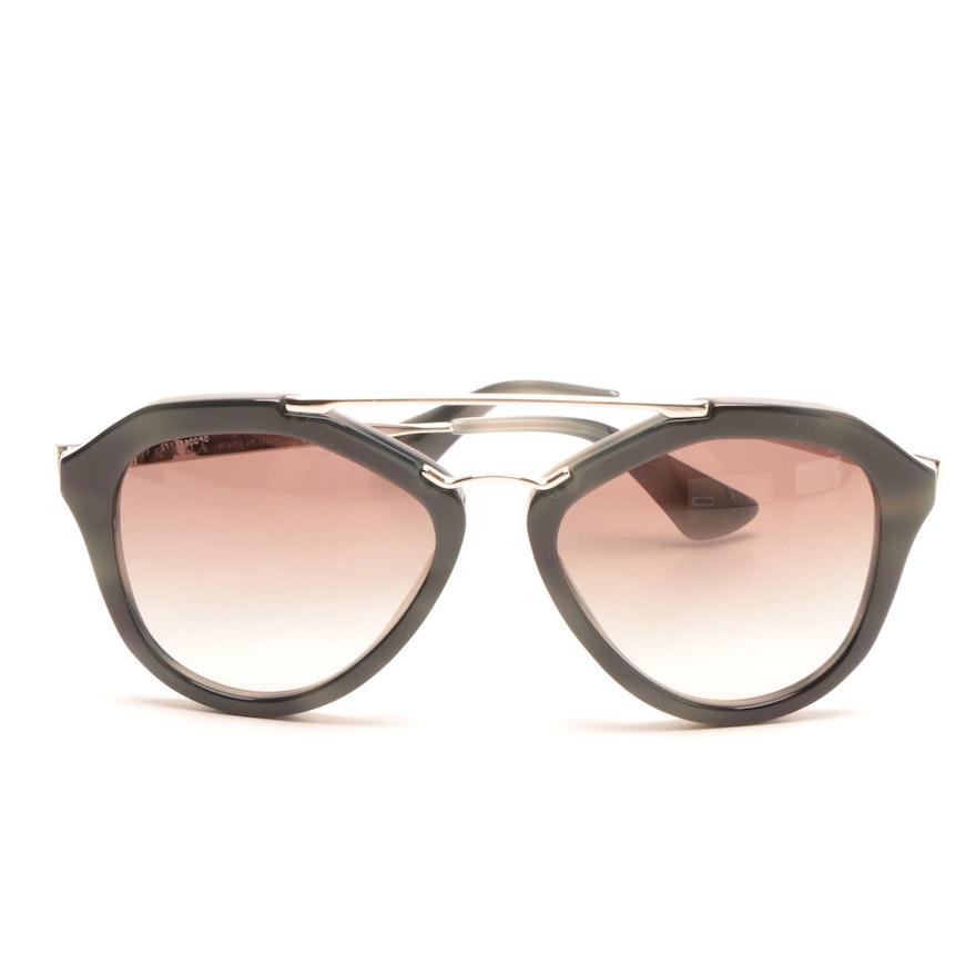 711f64de8b Prada Aviator-Style Sunglasses   EBTH