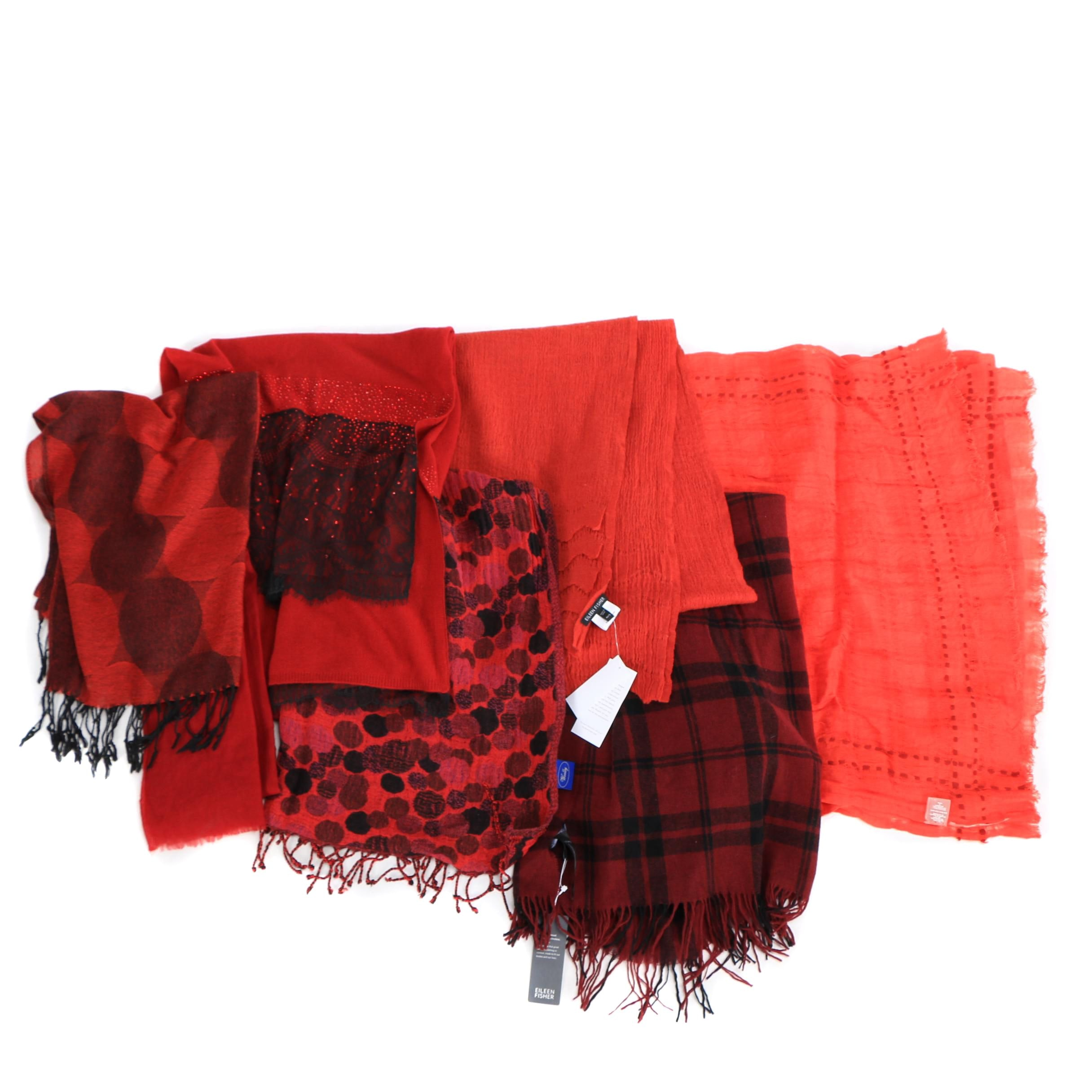Eileen Fisher, RH and Pashmina Scarves
