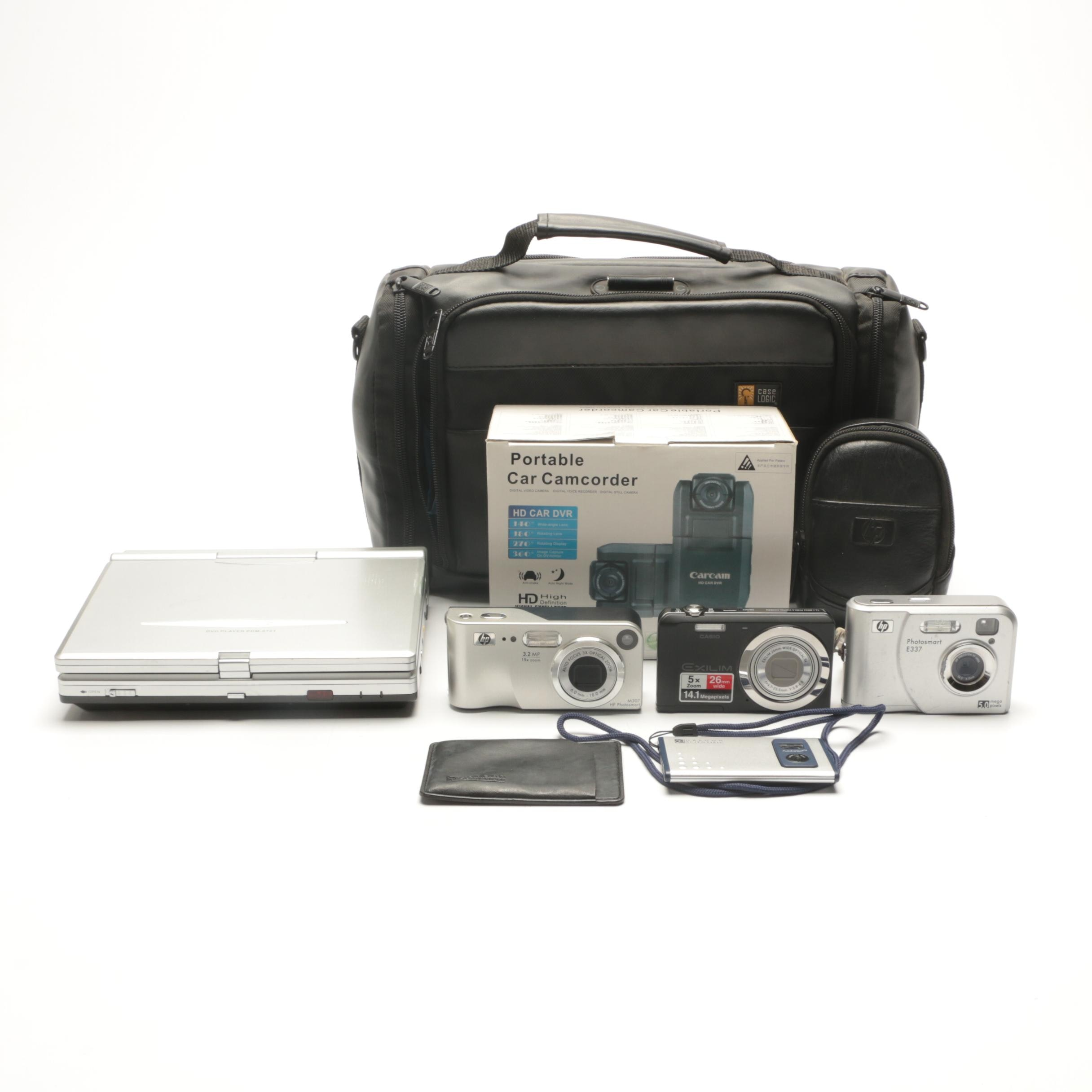 Digital Cameras Including Casio, Hp Photosmart, Oregon Scientific and More