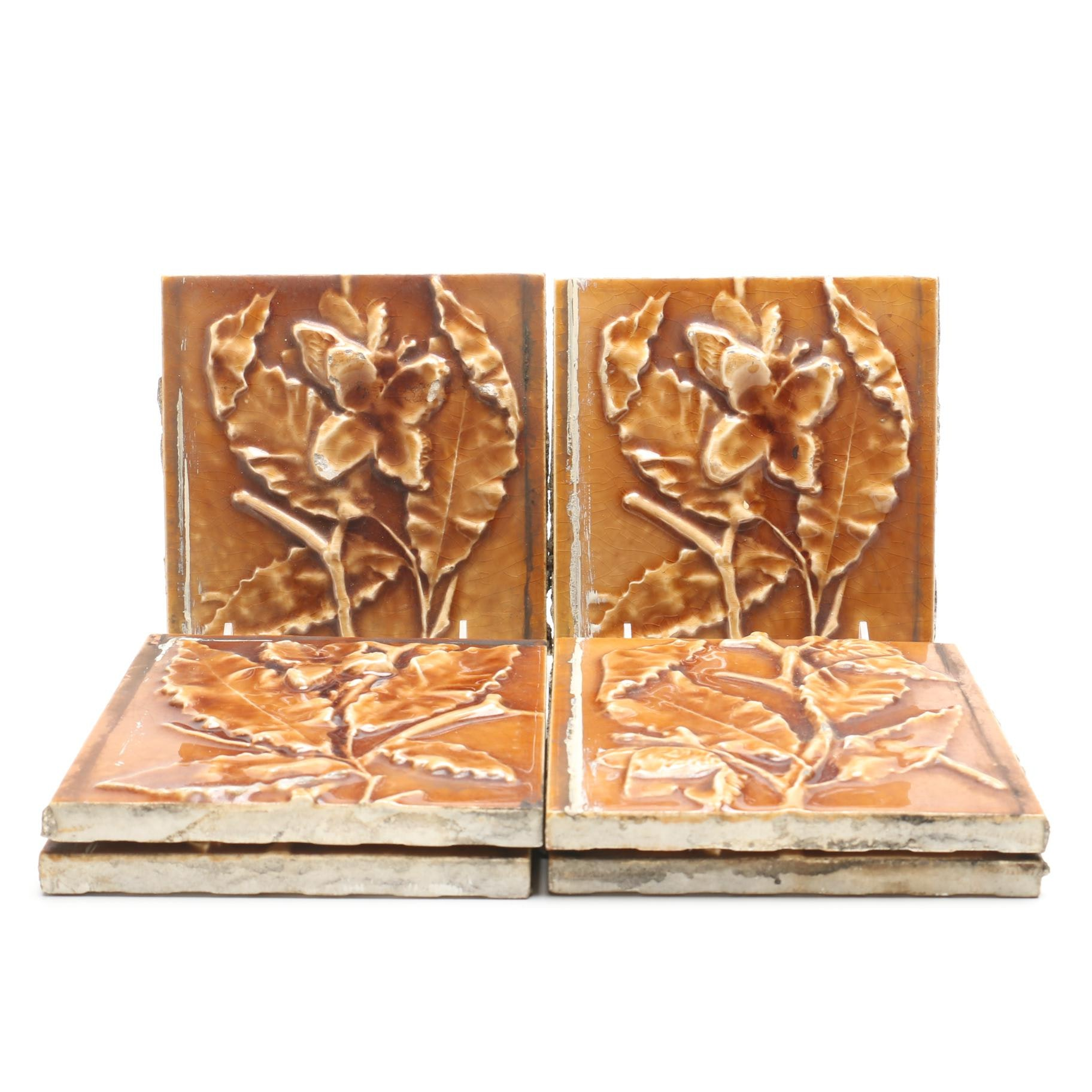 Vintage Art Pottery Tiles from Trent Tile Company