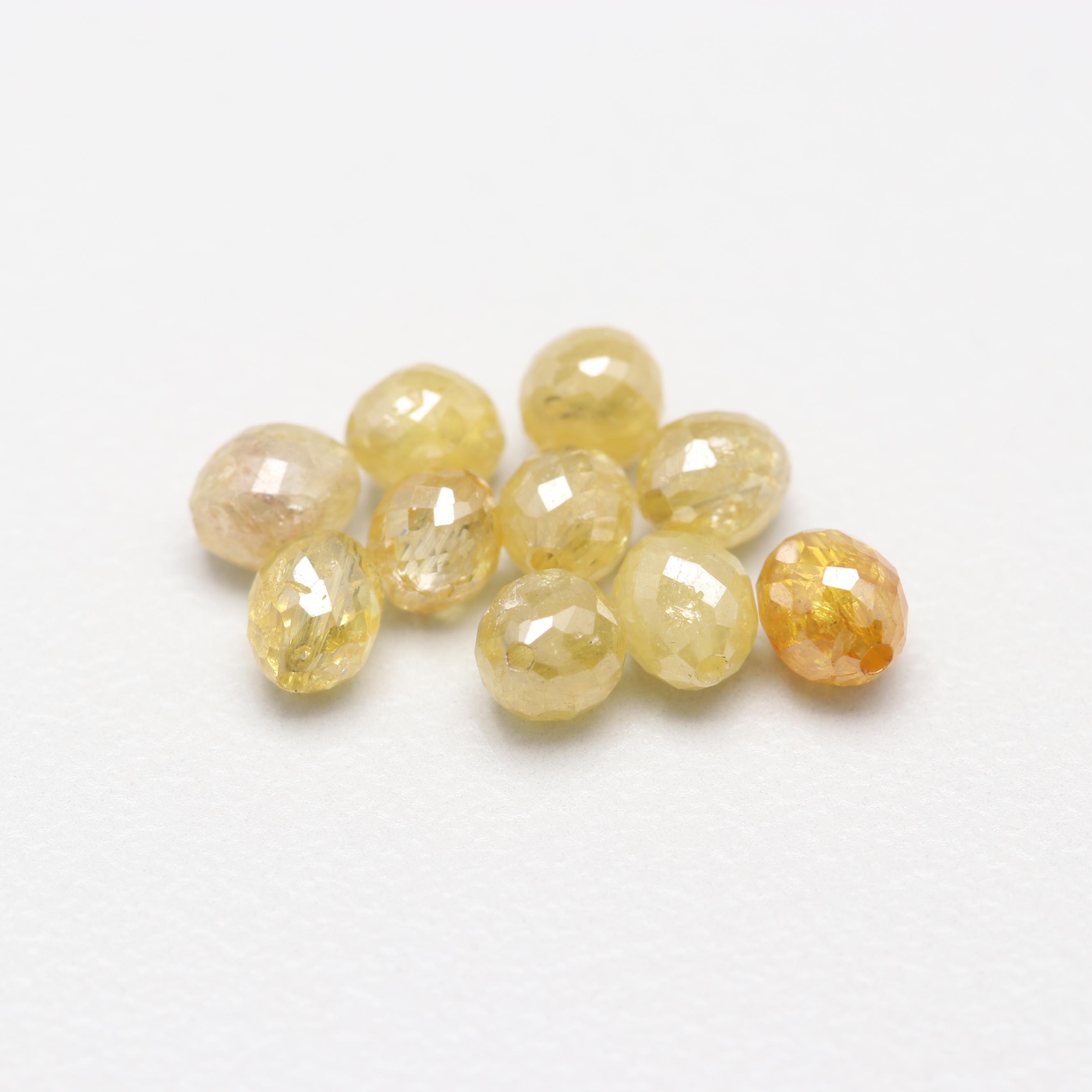 Loose 2.30 CTW Yellow Diamonds