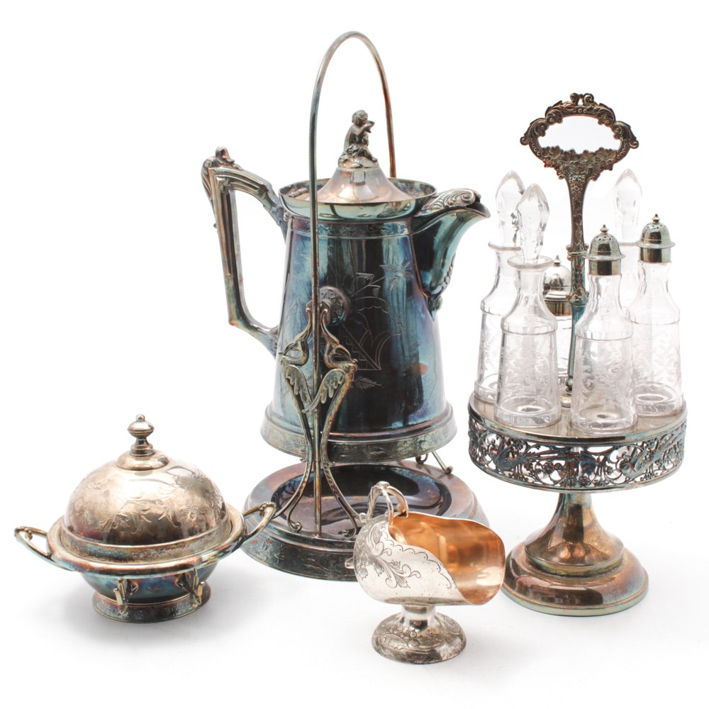 Antique and Vintage Silver Plated Tableware