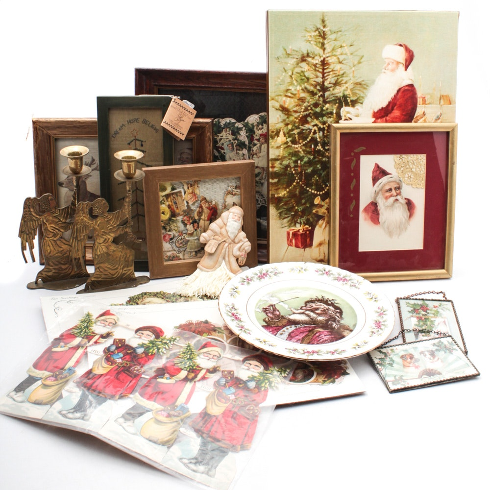 Antique, Vintage, and Contemporary Christmas Decor