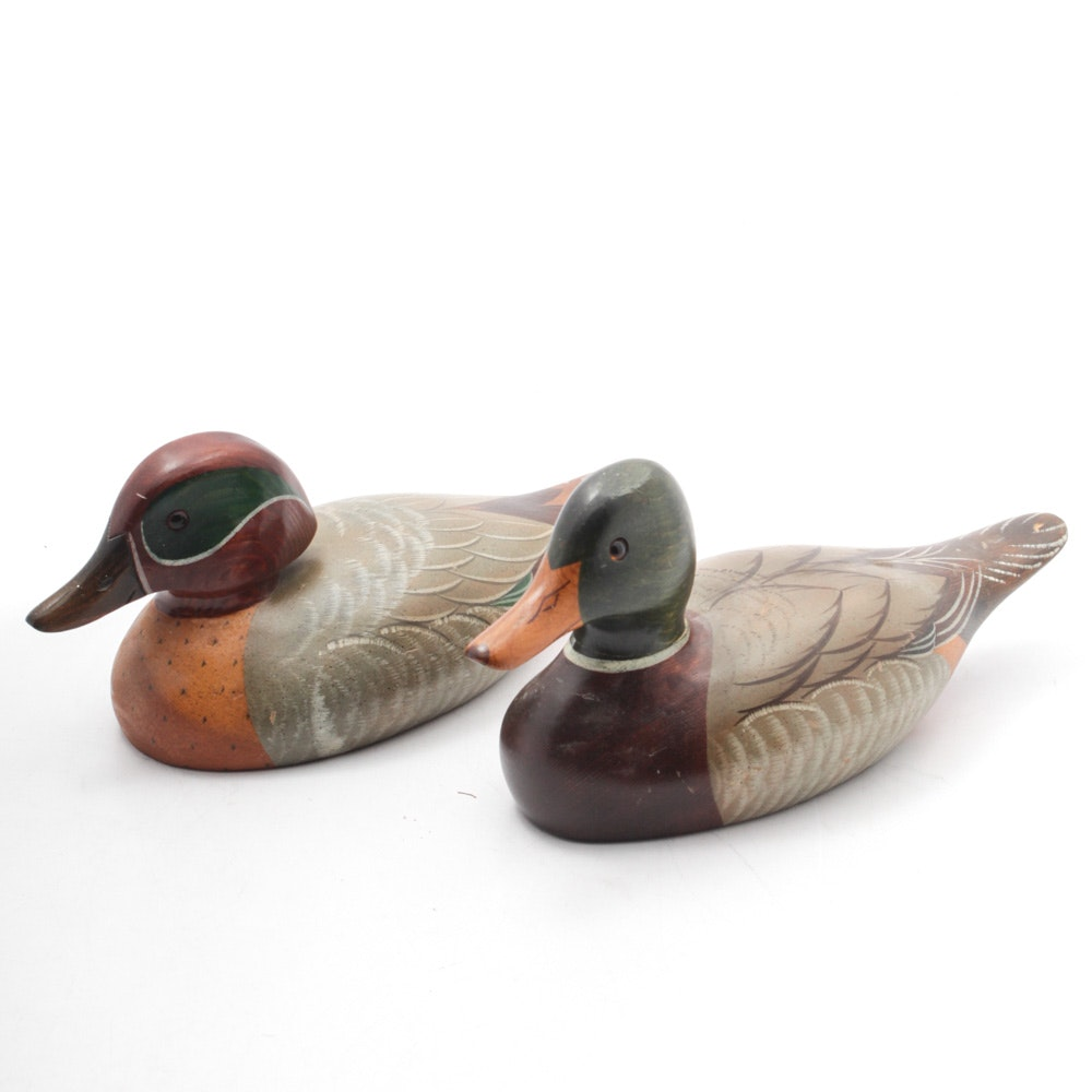 Signed Duck Decoys by Big Sky Carvers