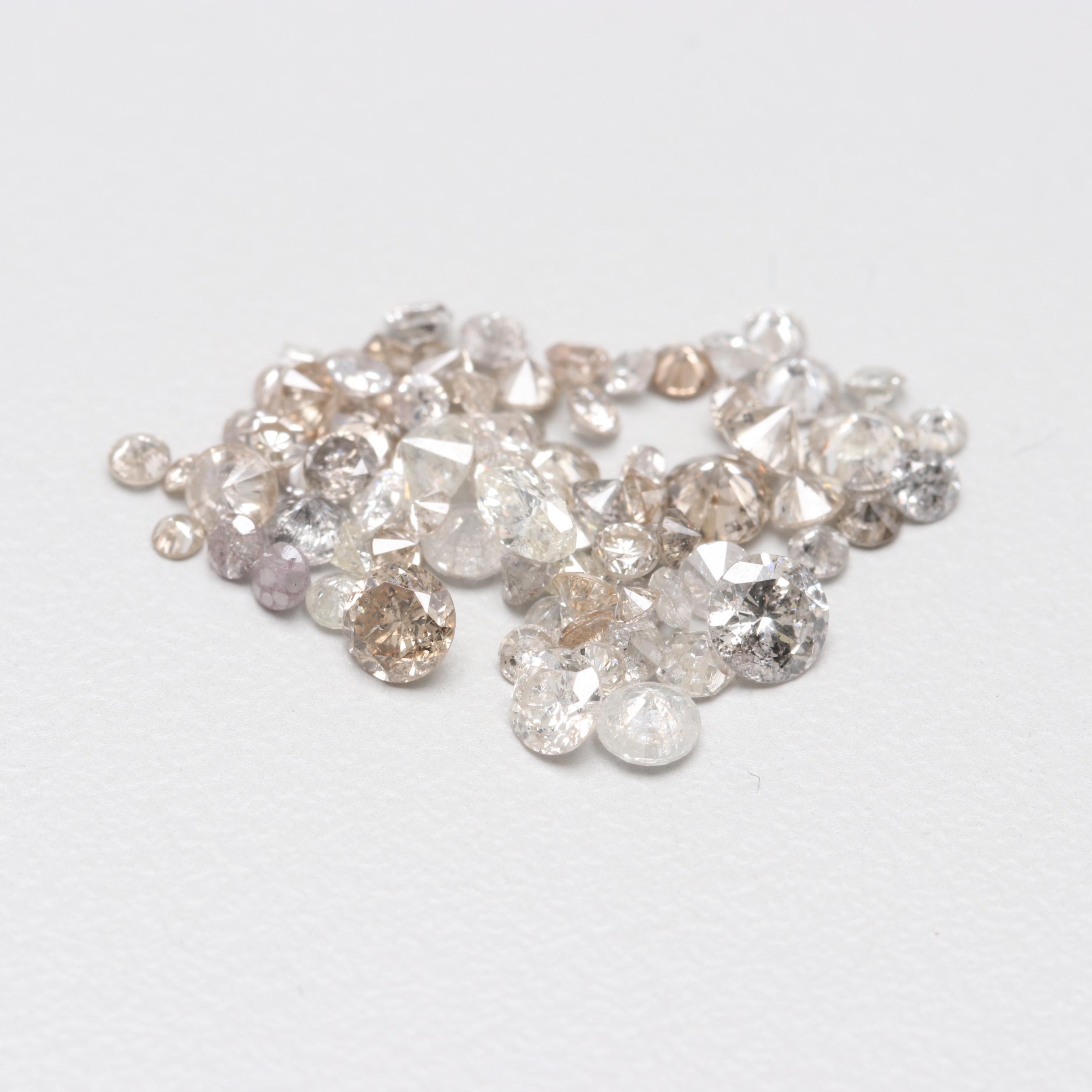 Loose 2.70 CTW Diamond Assortment