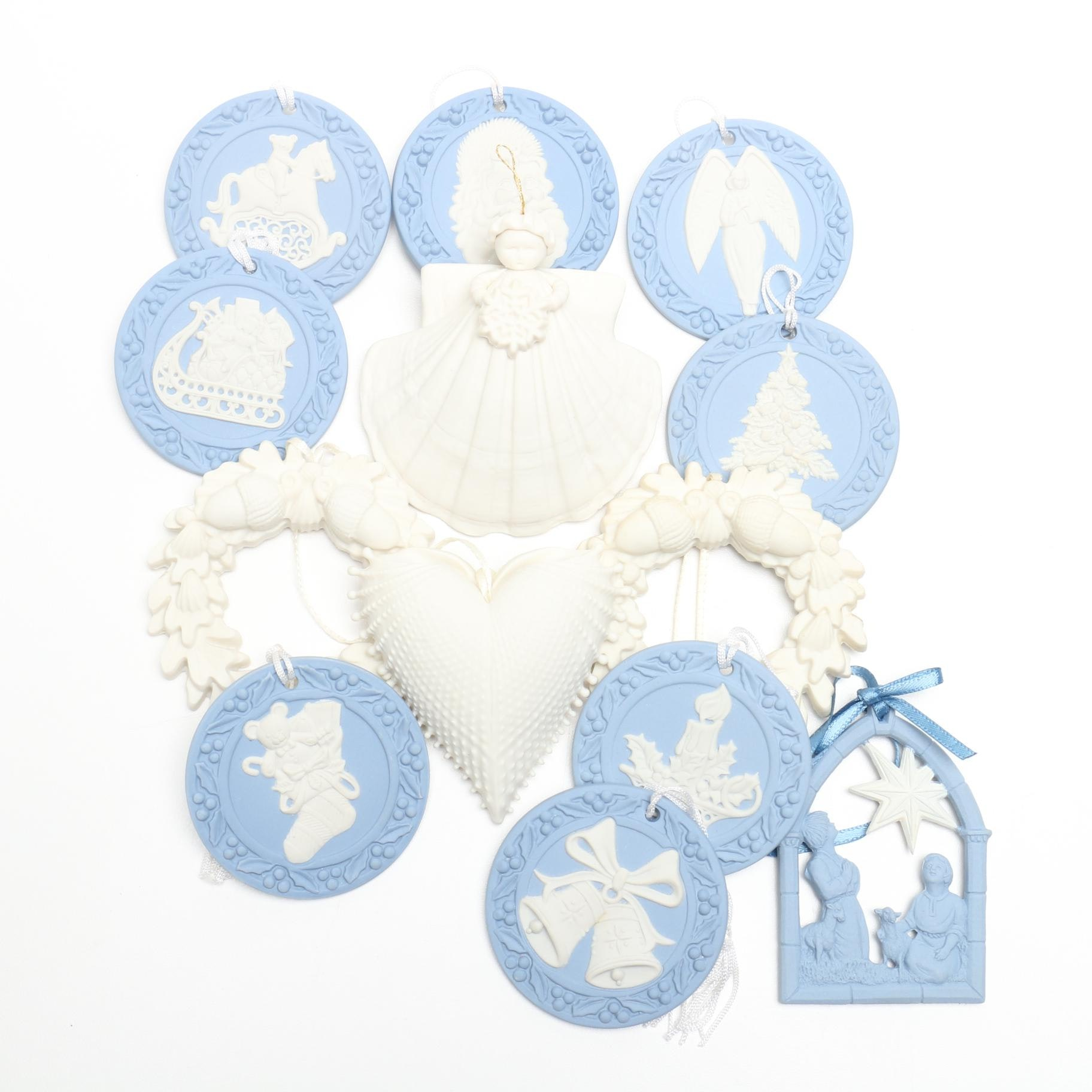 Wedgwood and Margaret Furlong Christmas Ornaments
