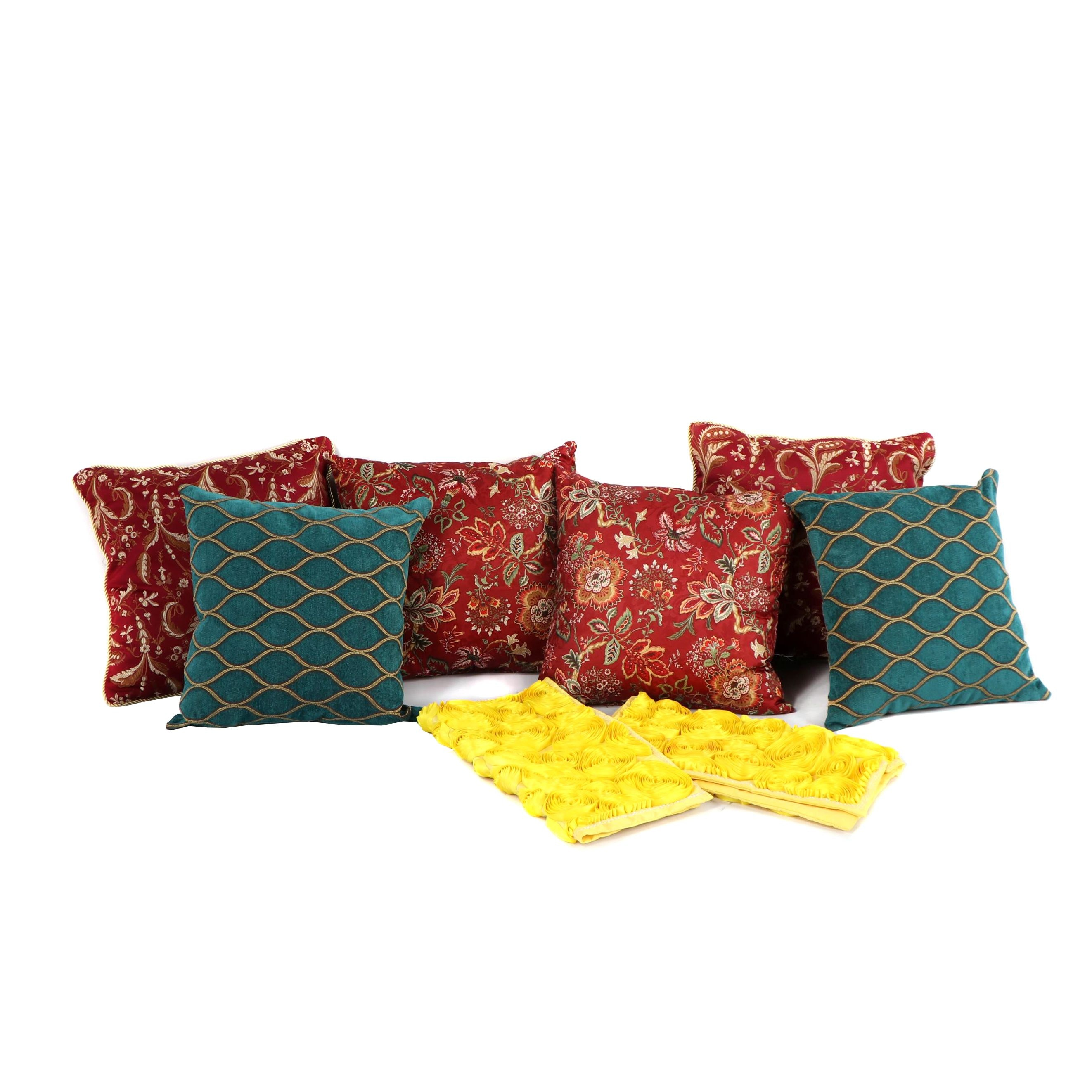 Accent Pillows with Two Pillow Covers