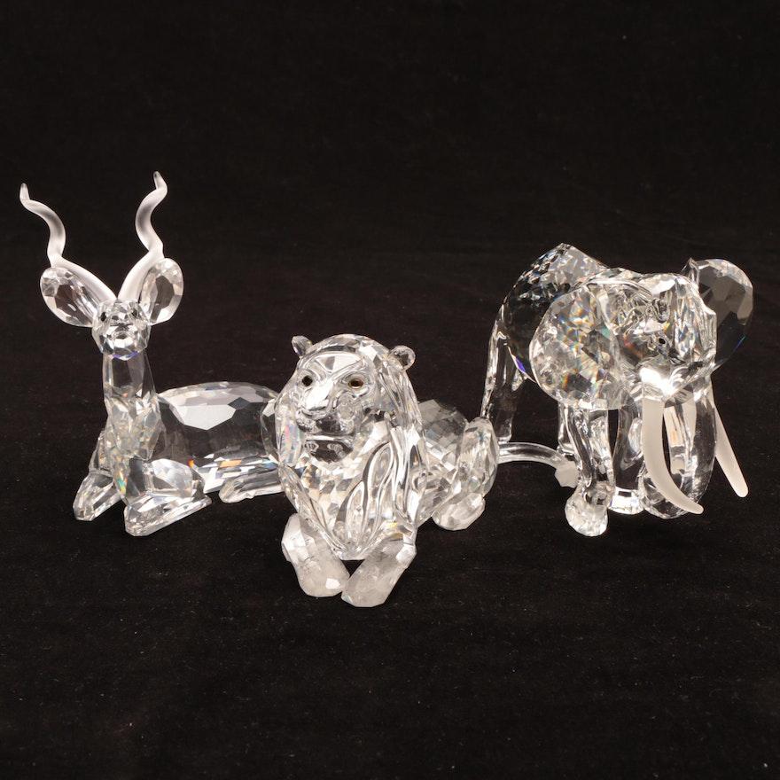 94e560f7c5aa Three Swarovski Crystal Figures in the Box   EBTH