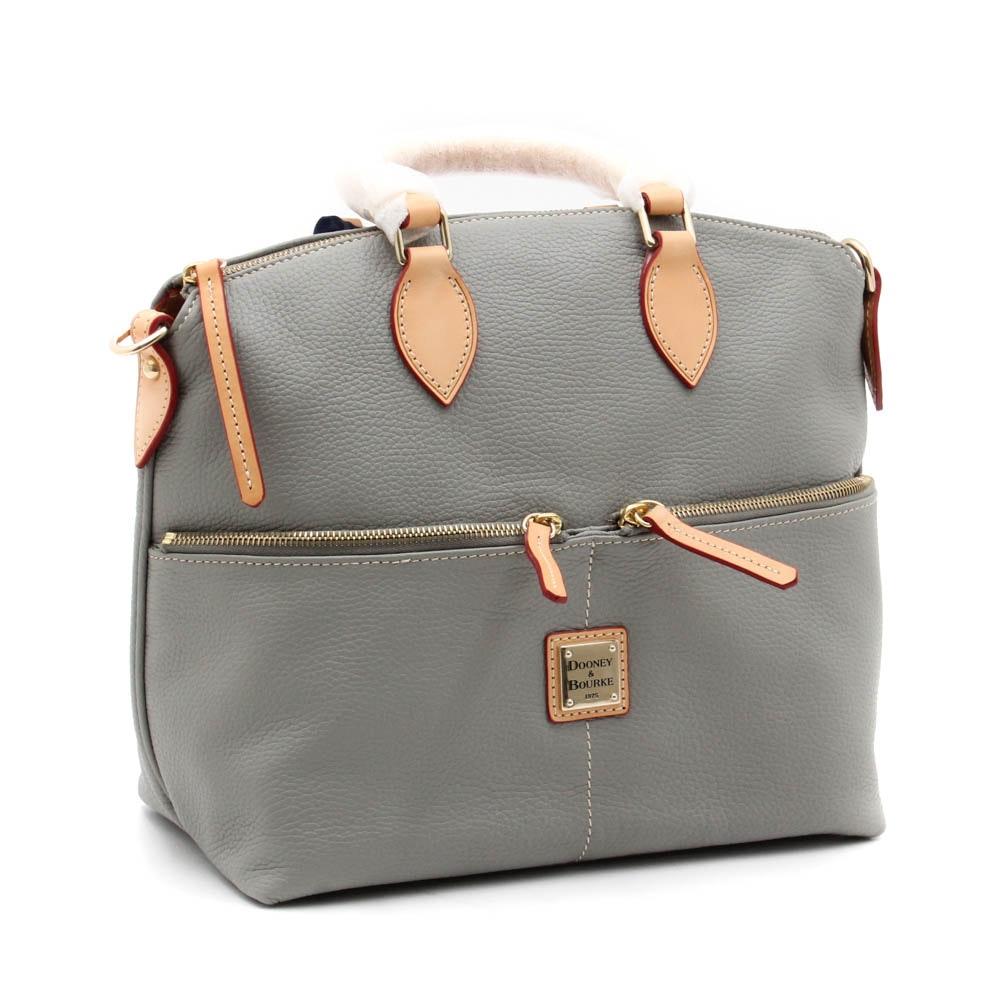 Dooney & Bourke Pebbled Leather Shoulder Bag