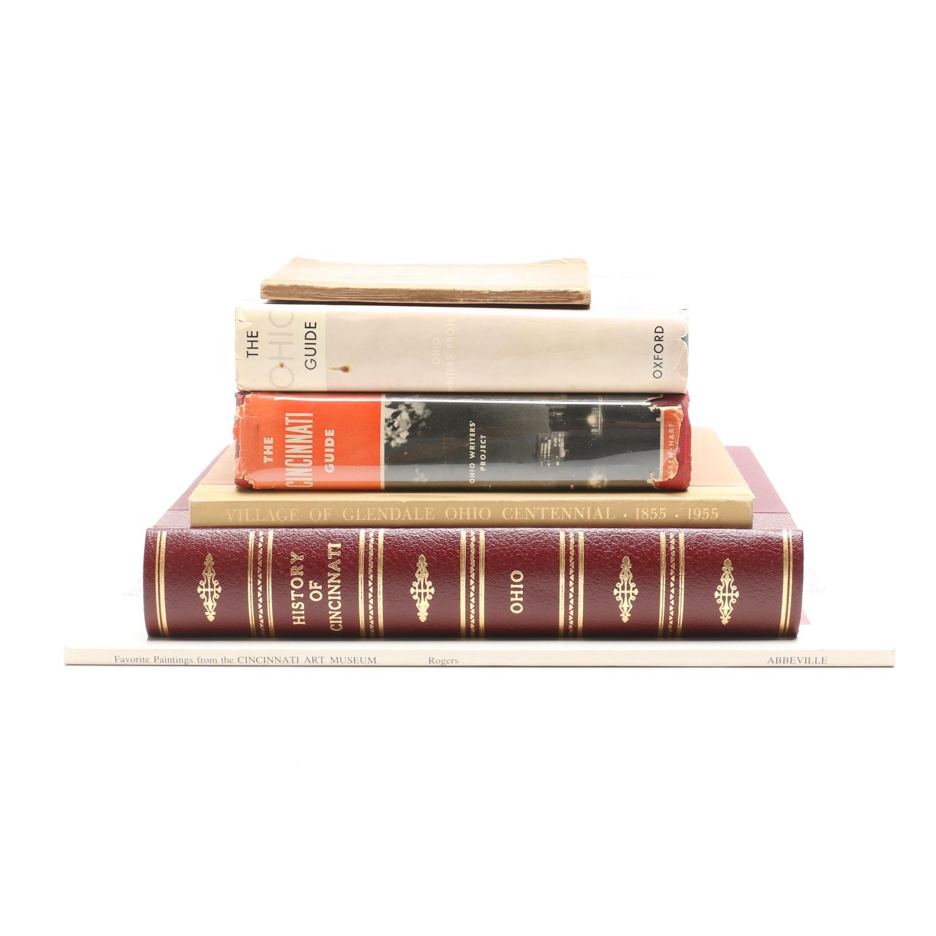 Collection of Books on Cincinnati