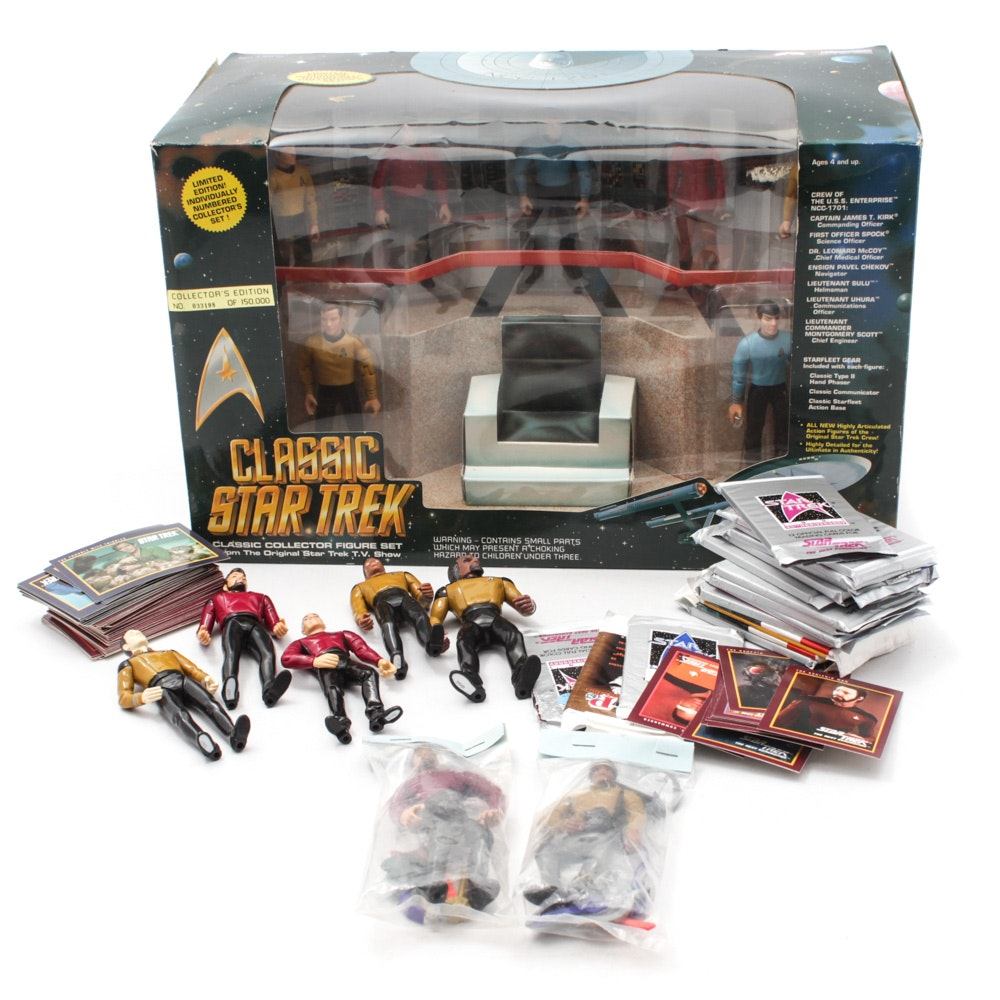 "Classic ""Star Trek"" and ""Next Generation"" Action Figures"