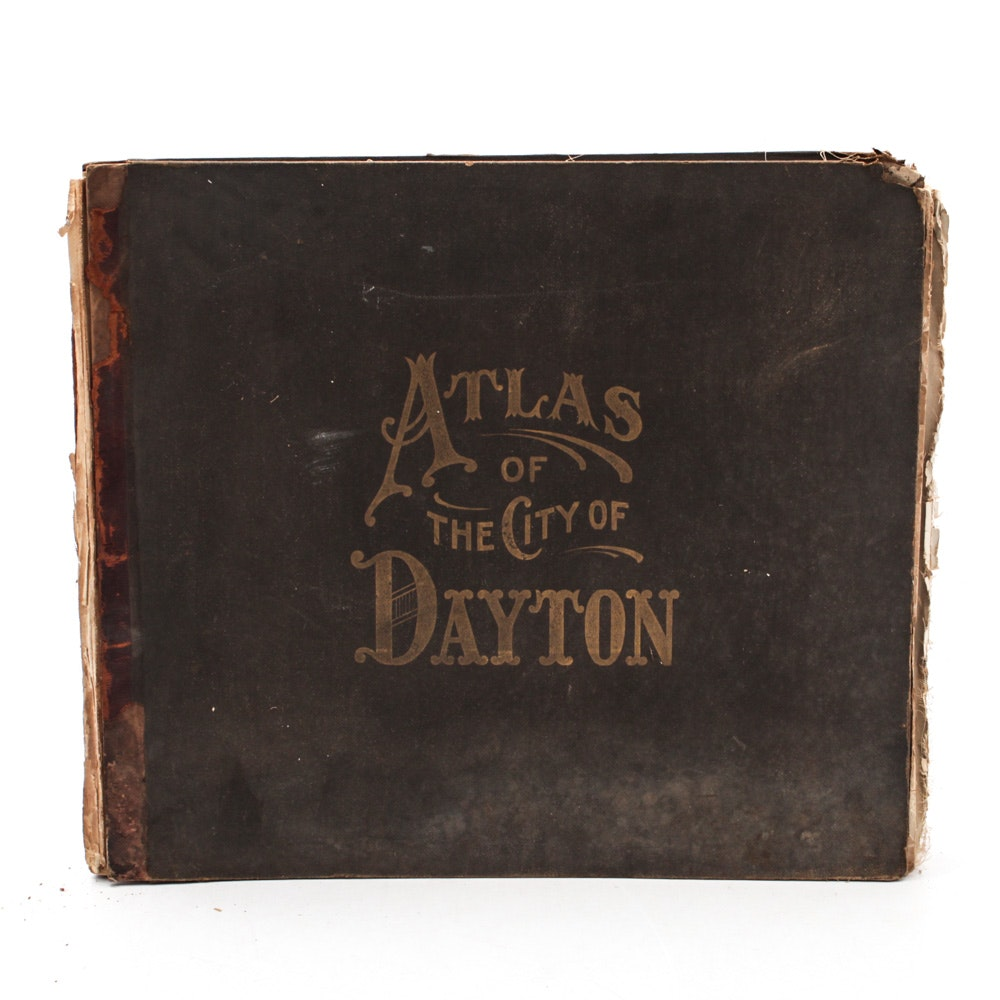 """1907 """"Atlas of The City of Dayton, Ohio and Adjoining Territory"""""""