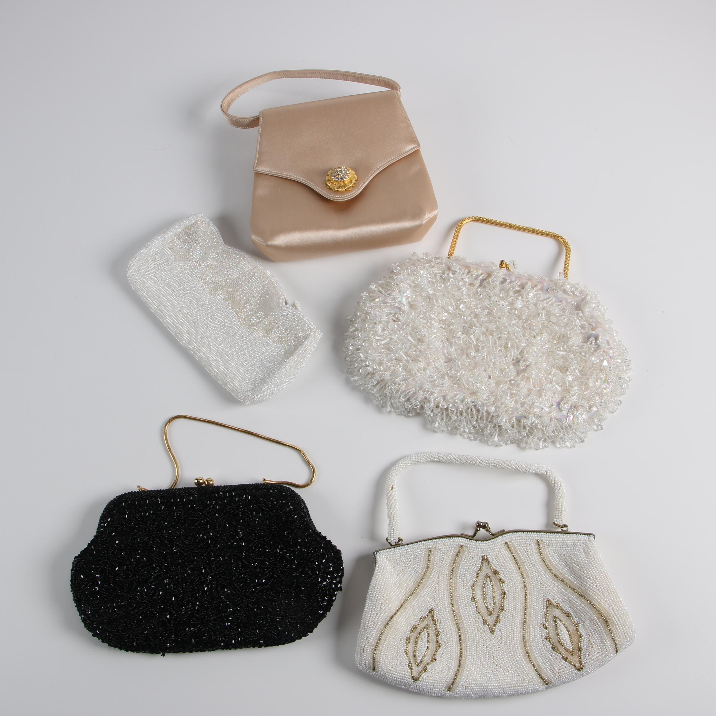 Vintage Beaded Clutches and Morris Moskowitz Evening Bag