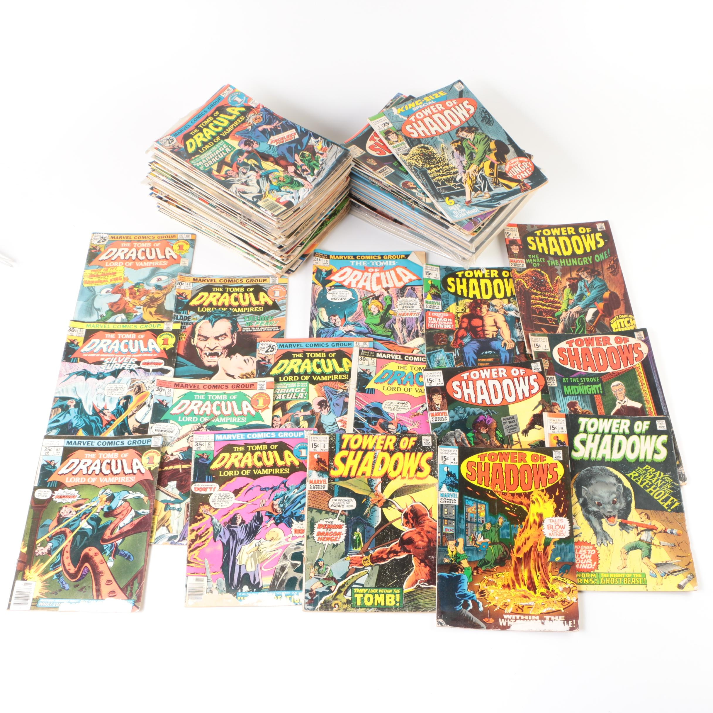 """Marvel's """"The Tomb of Dracula"""" and Other Bronze Age Horror Comics"""