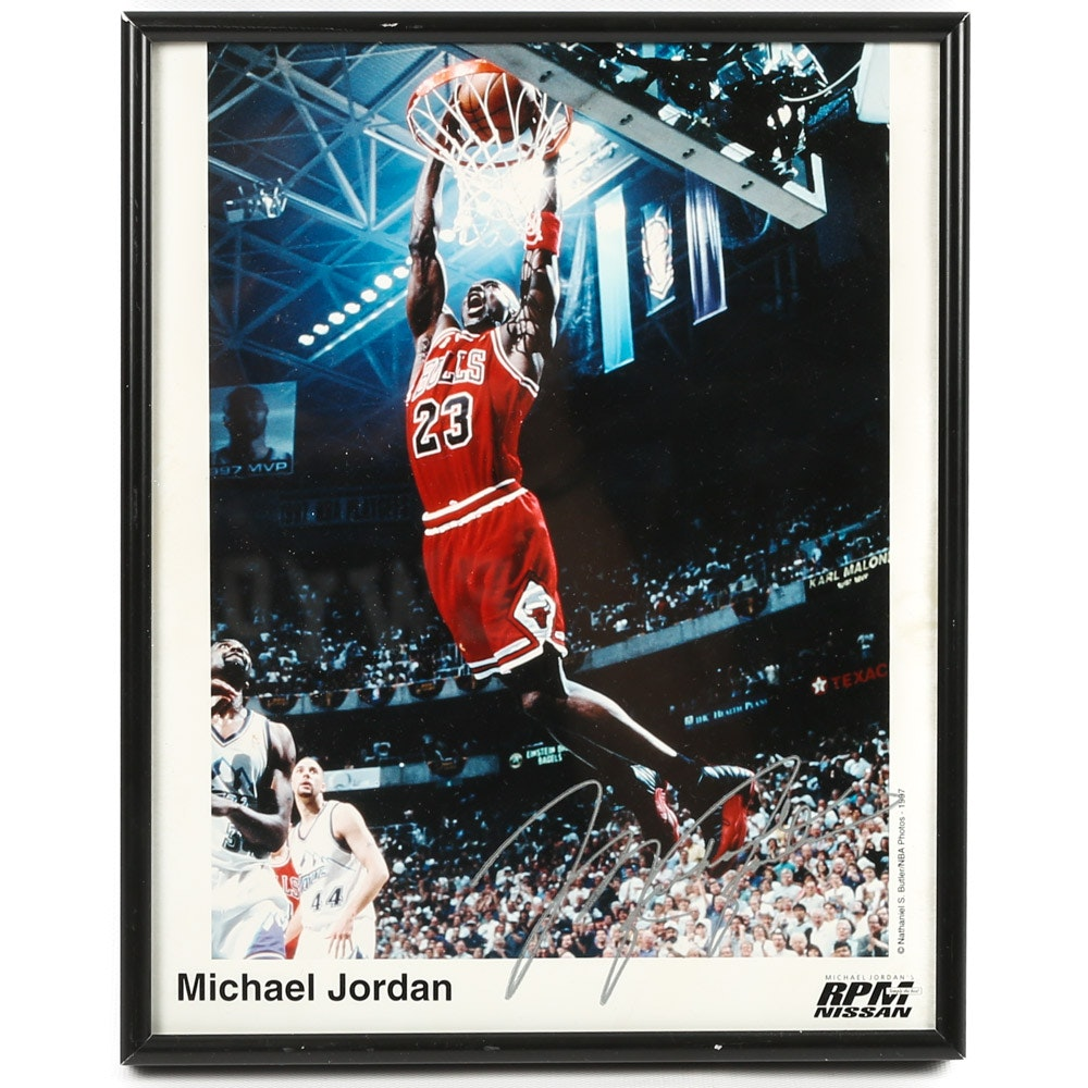 Color Photograph of Michael Jordan