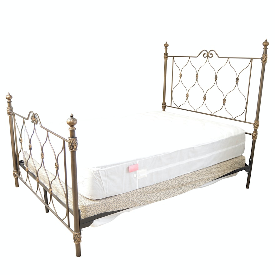 Victorian Style Double Brass Bed : EBTH