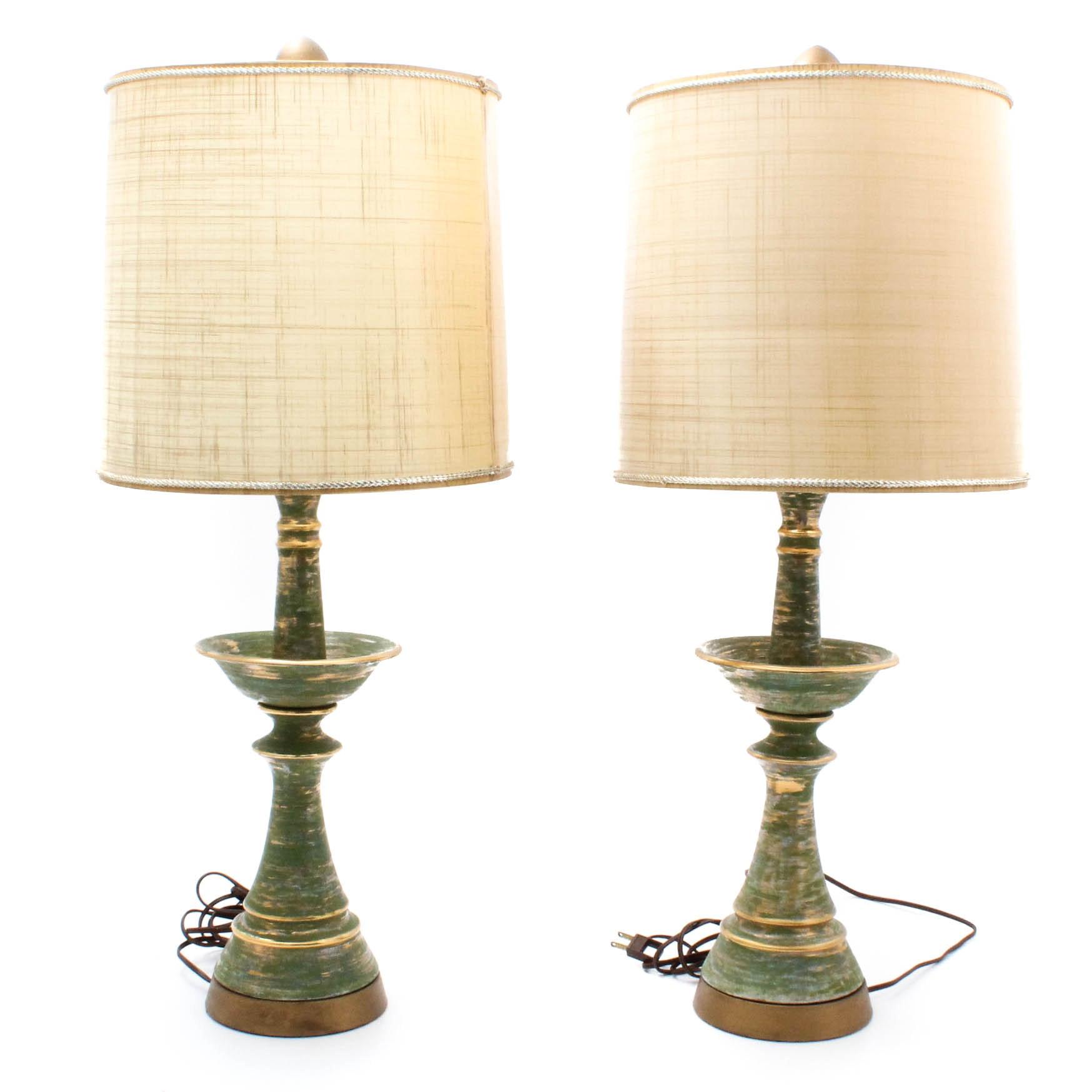 Mid Century Ceramic Table Lamps