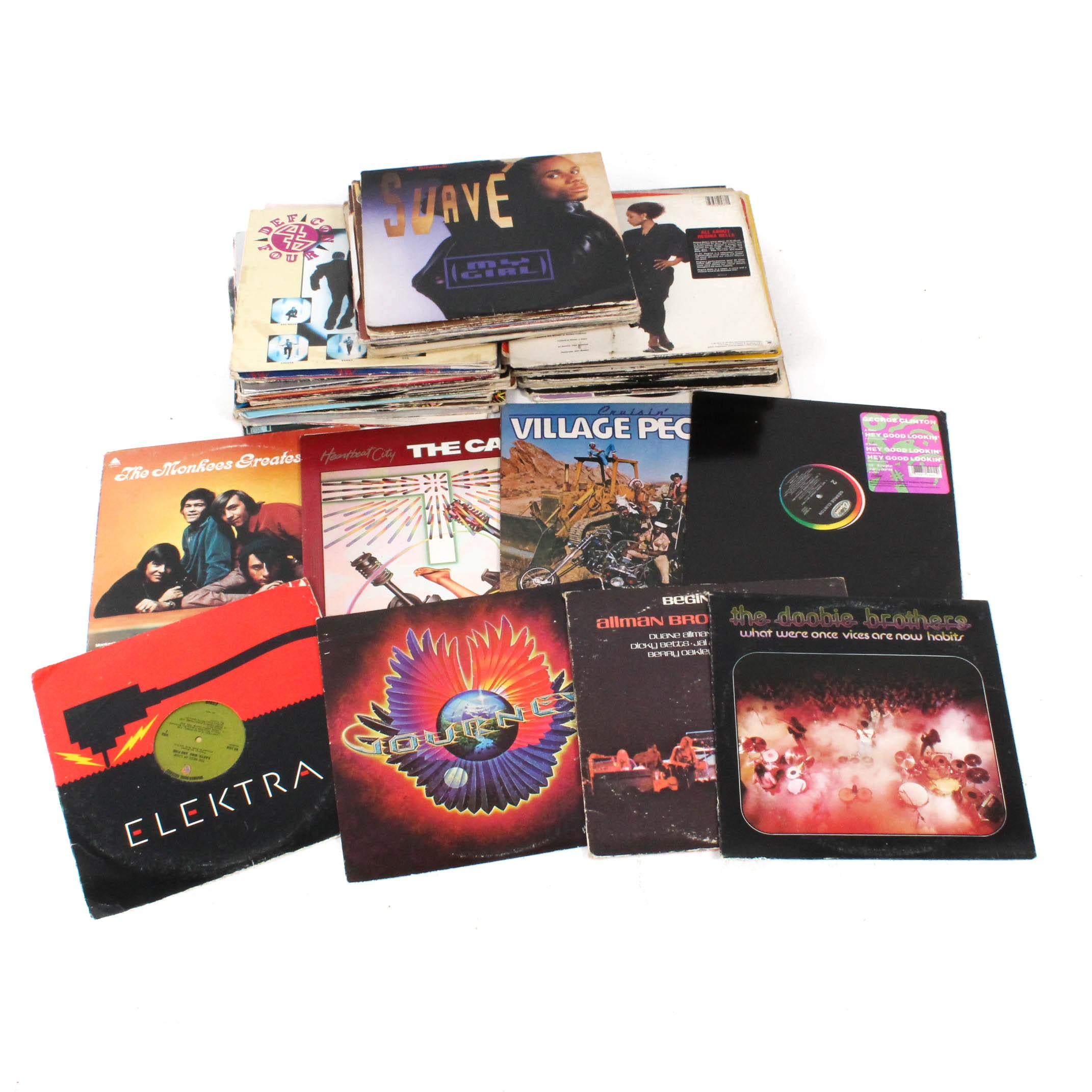 Vinyl Records Featuring The Allman Brothers Band, The Doobie Brothers and More
