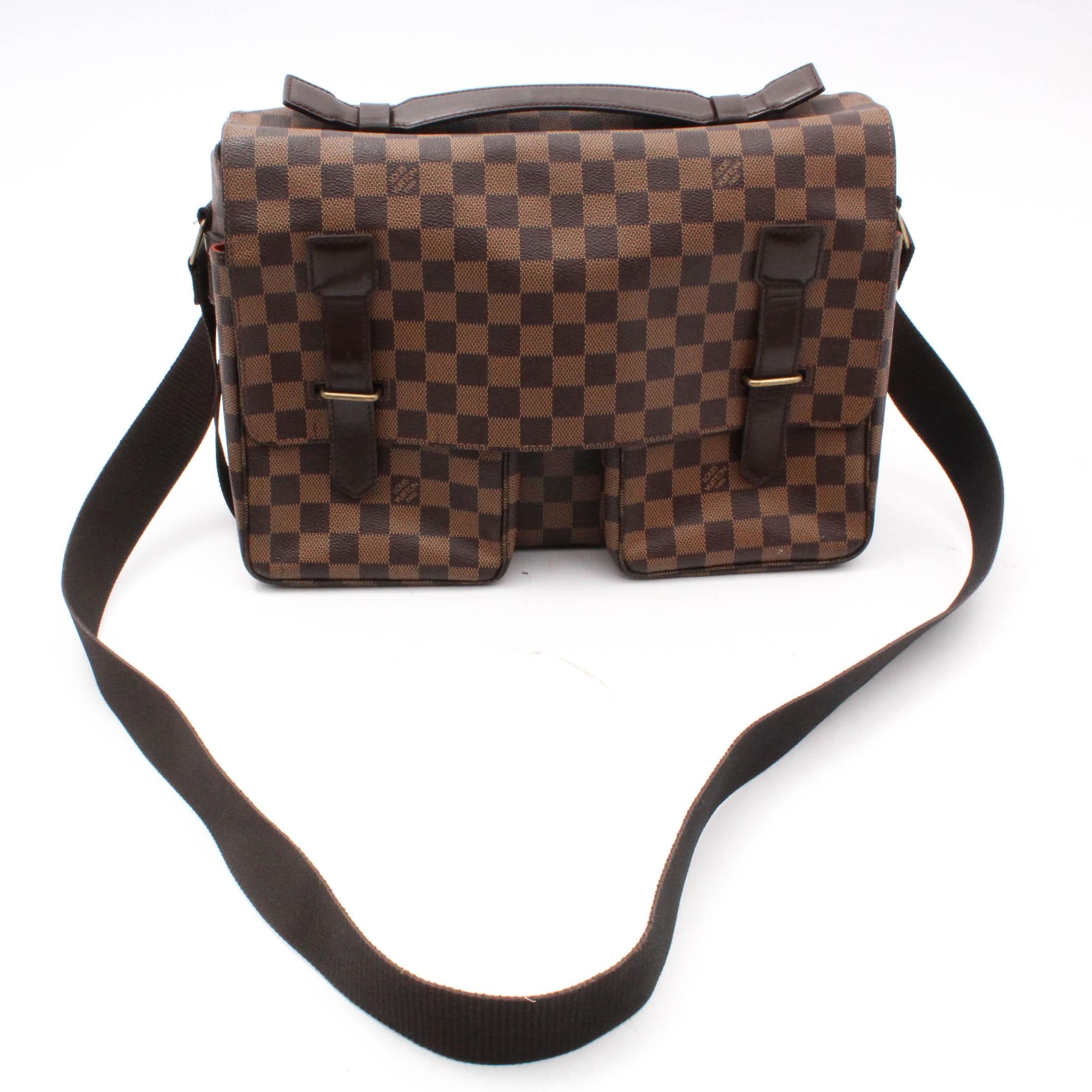 2004 Louis Vuitton Damier Crossbody Messenger Bag