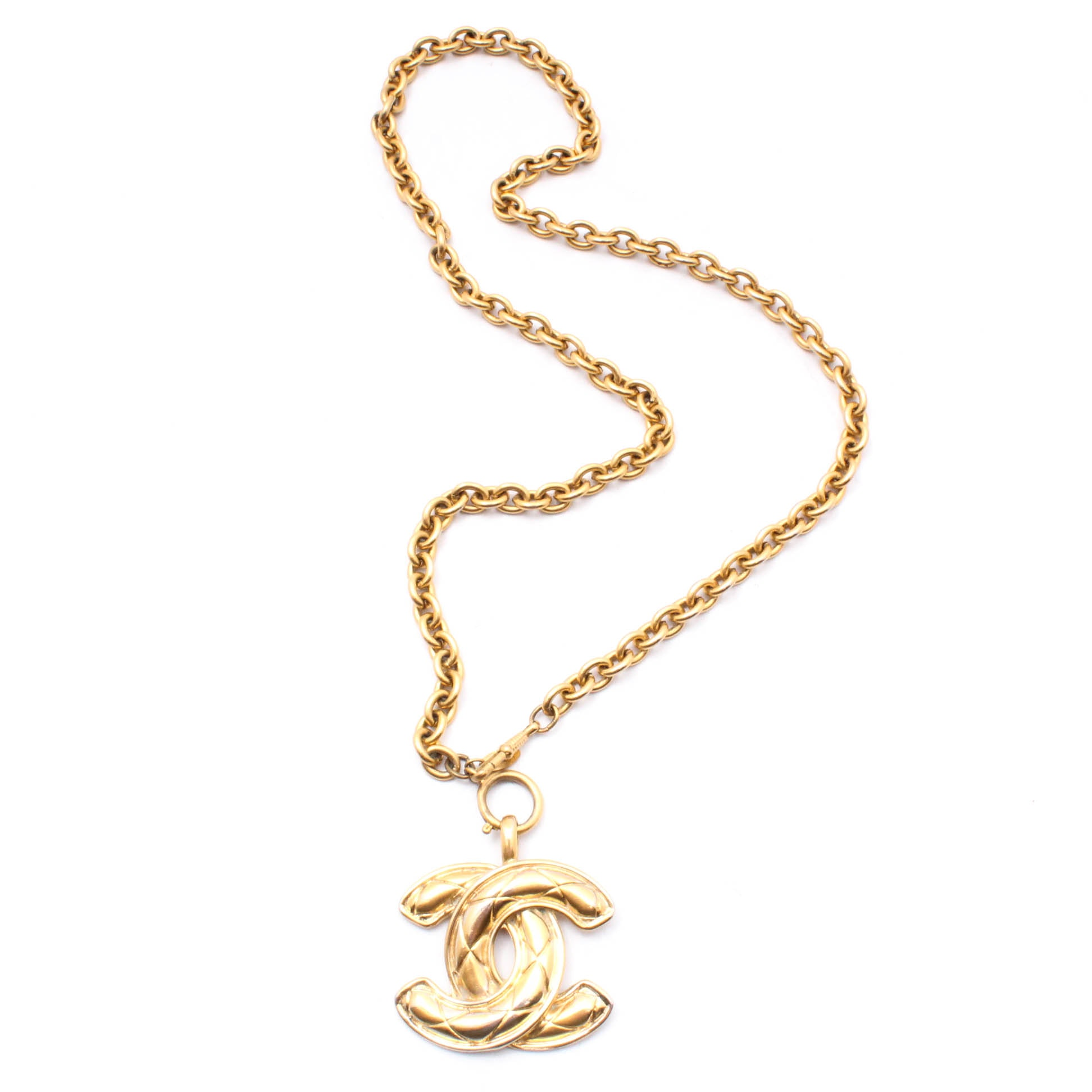 Chanel Gold Tone Necklace