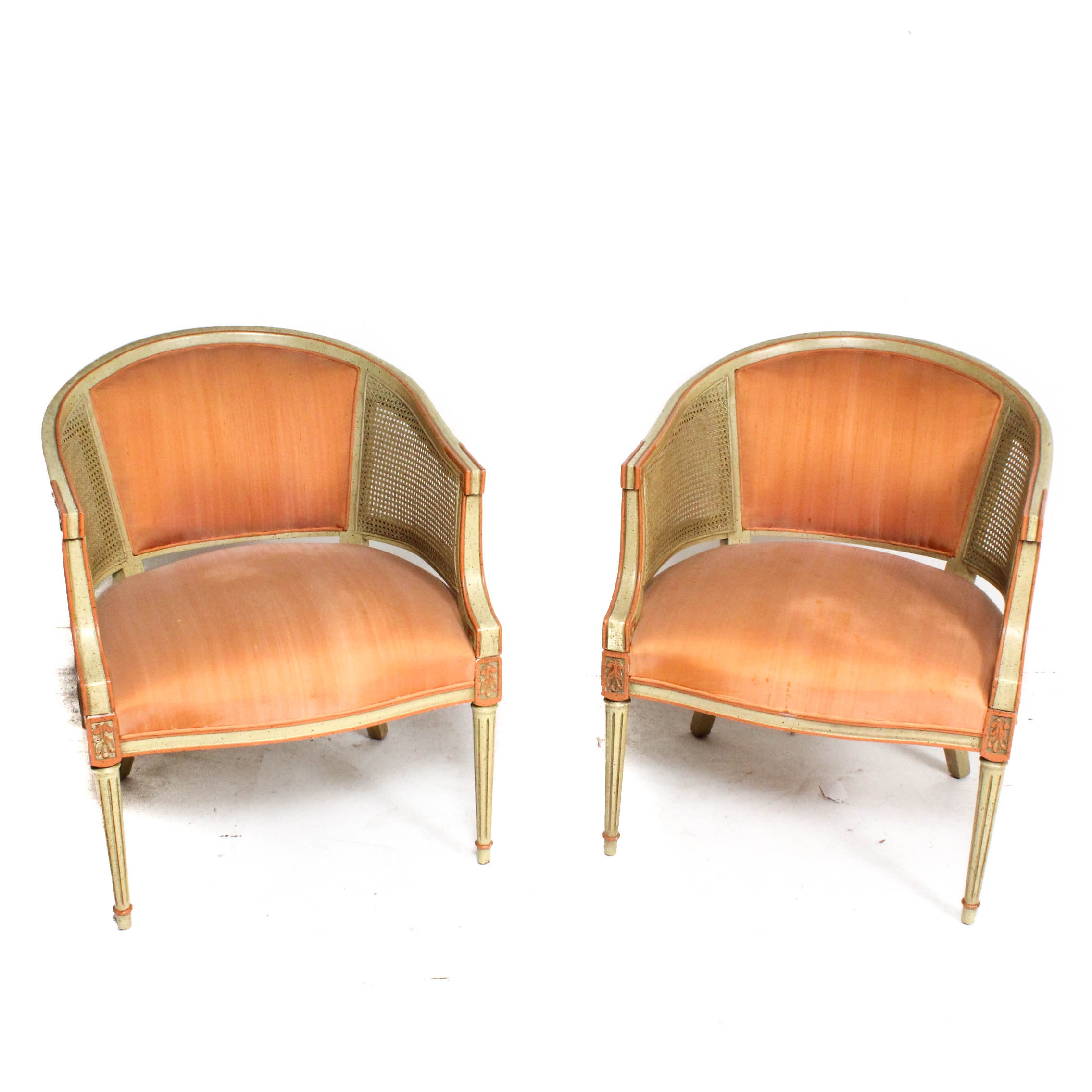 Upholstered Barrel Chairs