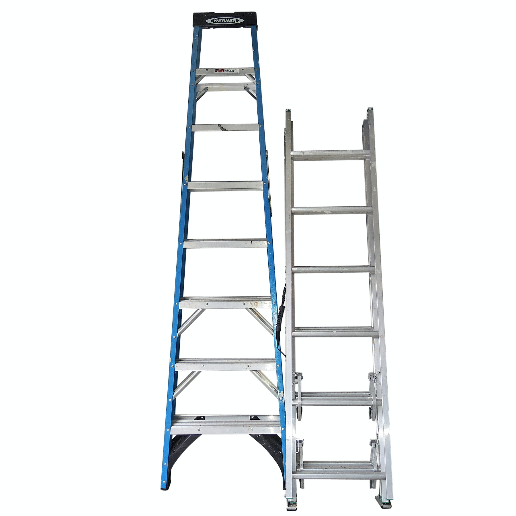 Werner Step Ladder and Extension Ladder