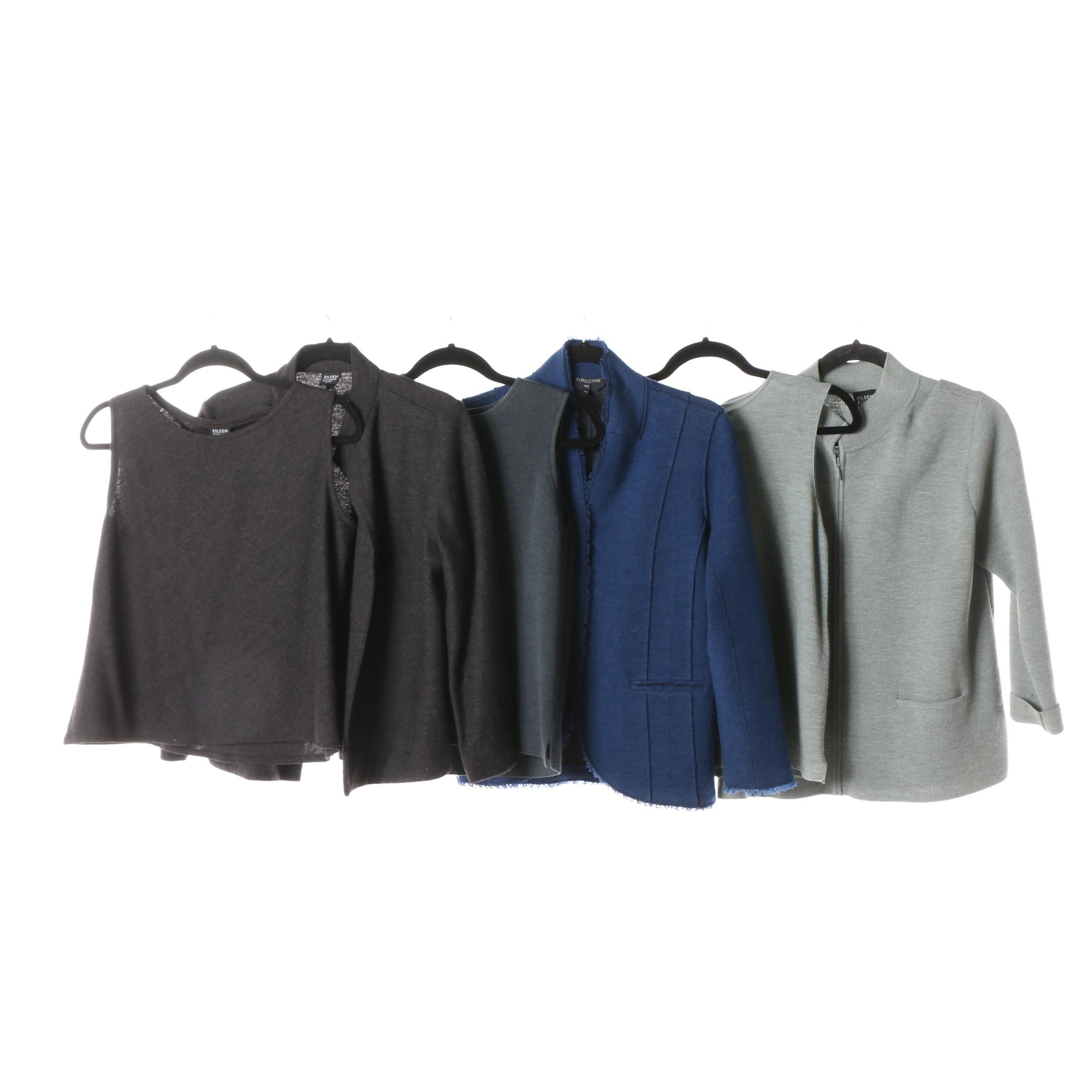 Eileen Fisher Knit Tops and Jackets