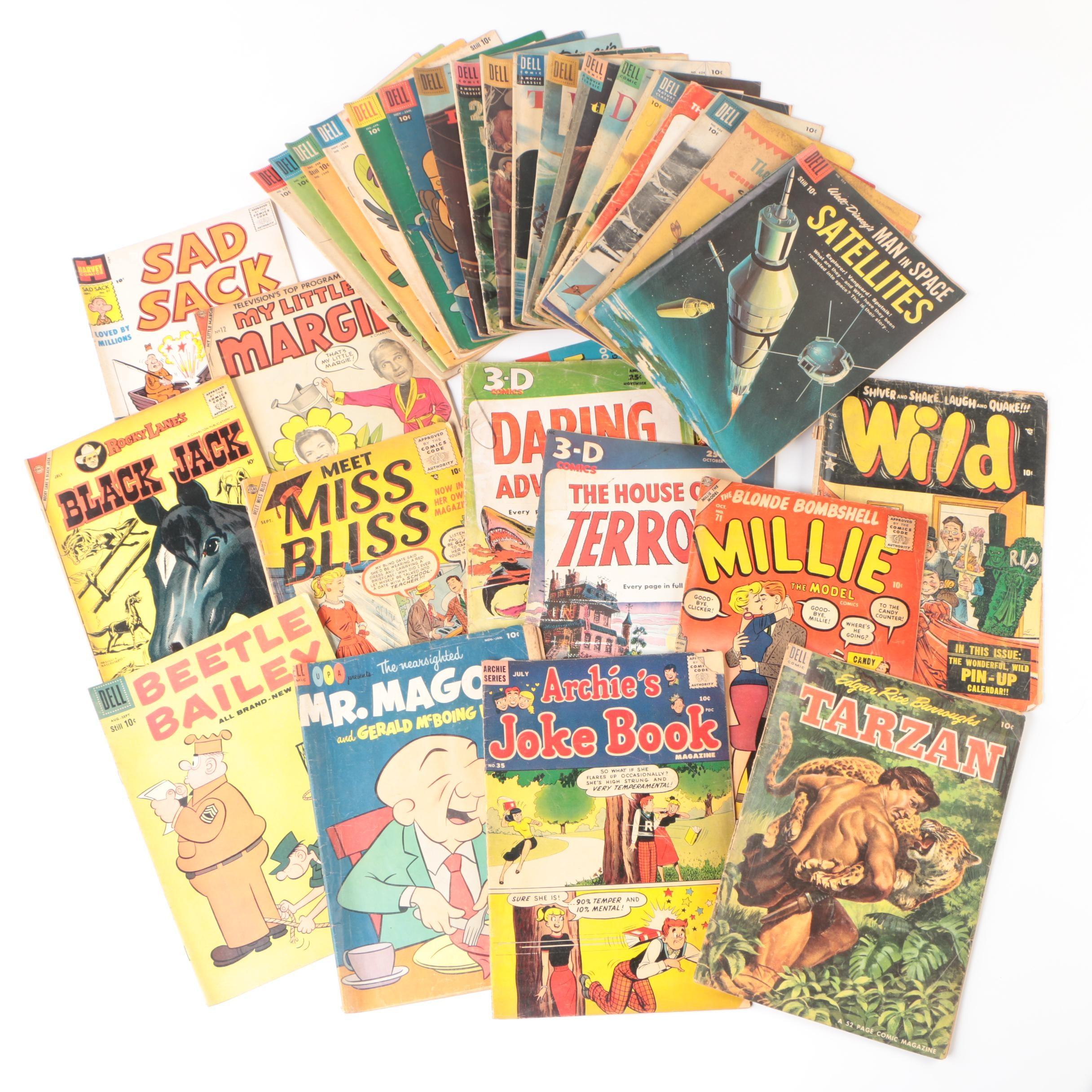 Vintage Comic Books including Disney