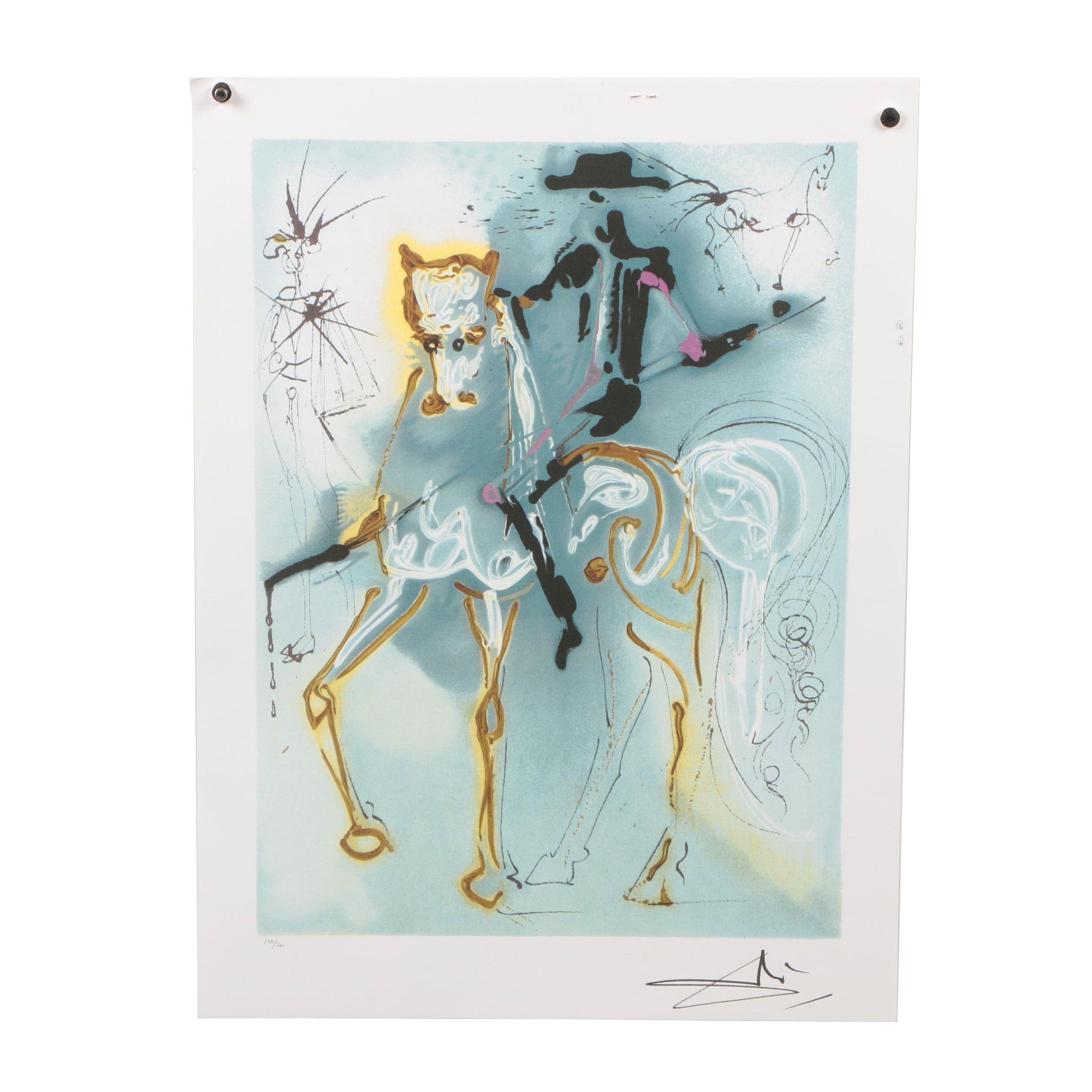 """Offset Lithograph after Salvador Dalí """"La Picador"""""""