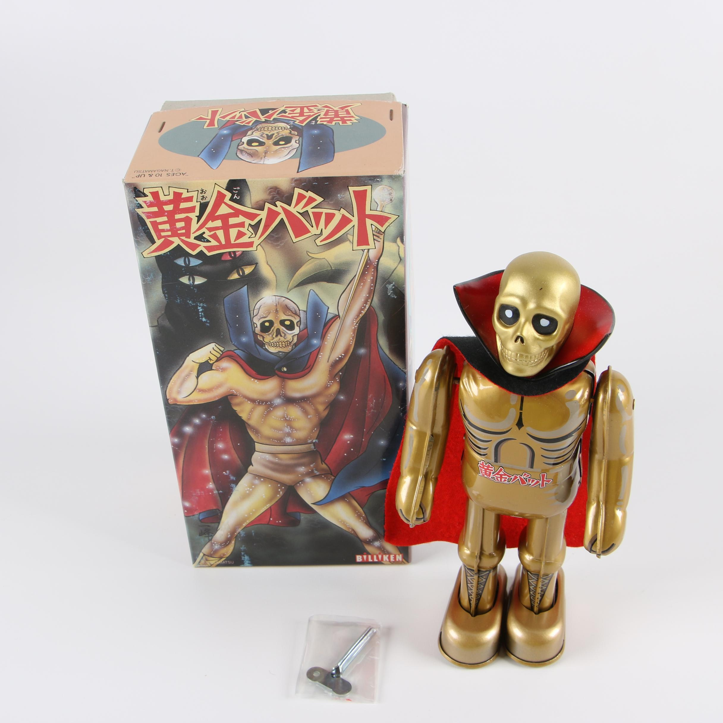 1990s Billiken Ōgon Bat Wind-up Toy