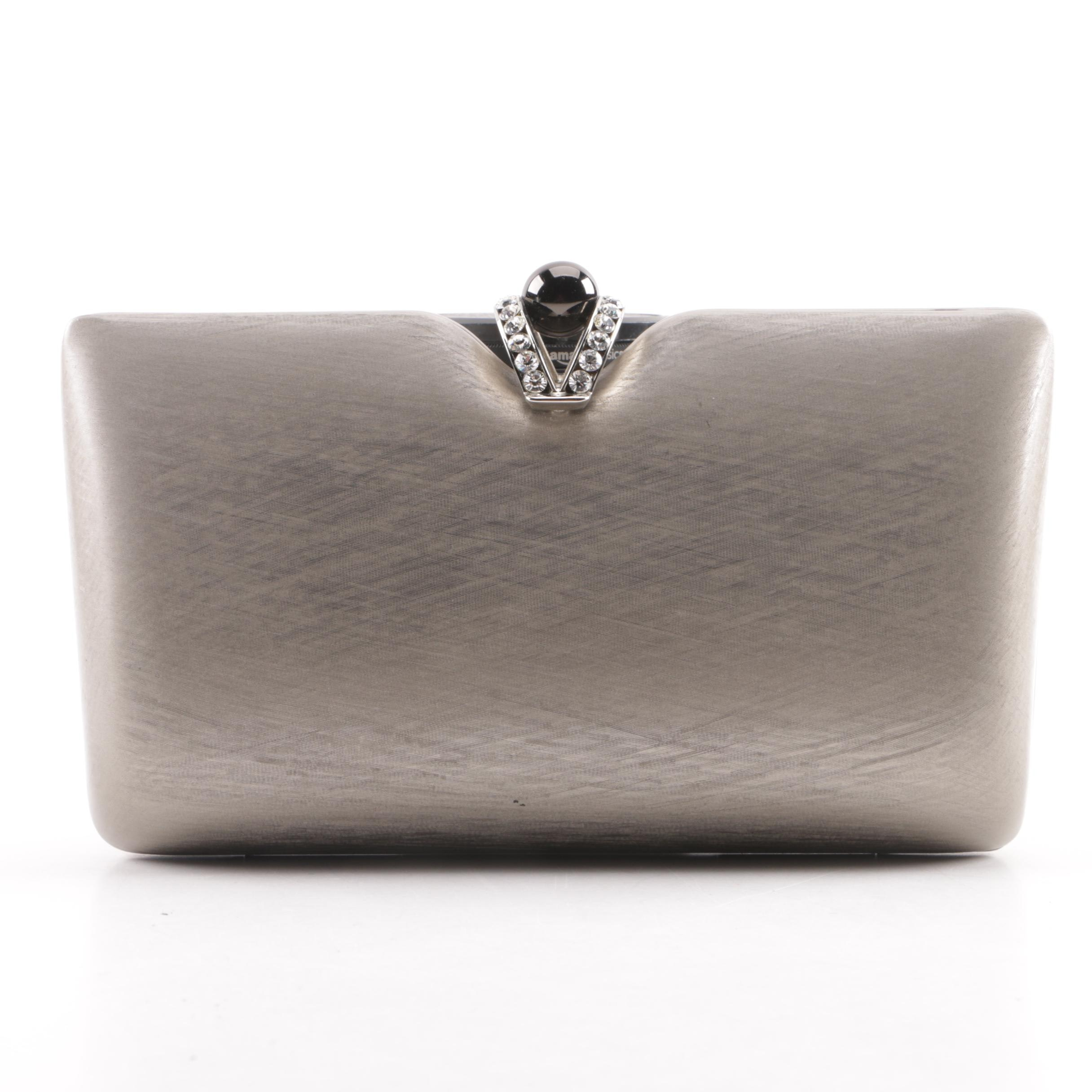 Rodo Metal Convertible Clutch Evening Bag