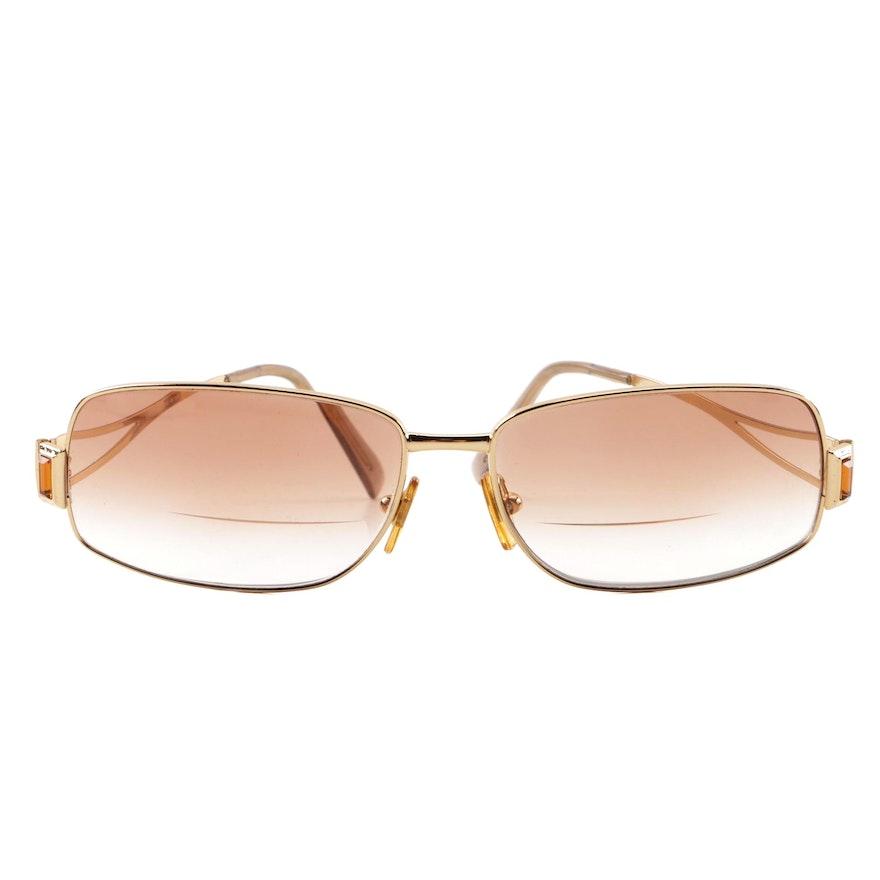 ceed1bdbd8 Vintage Versace N81-H Bifocal Sunglasses   EBTH