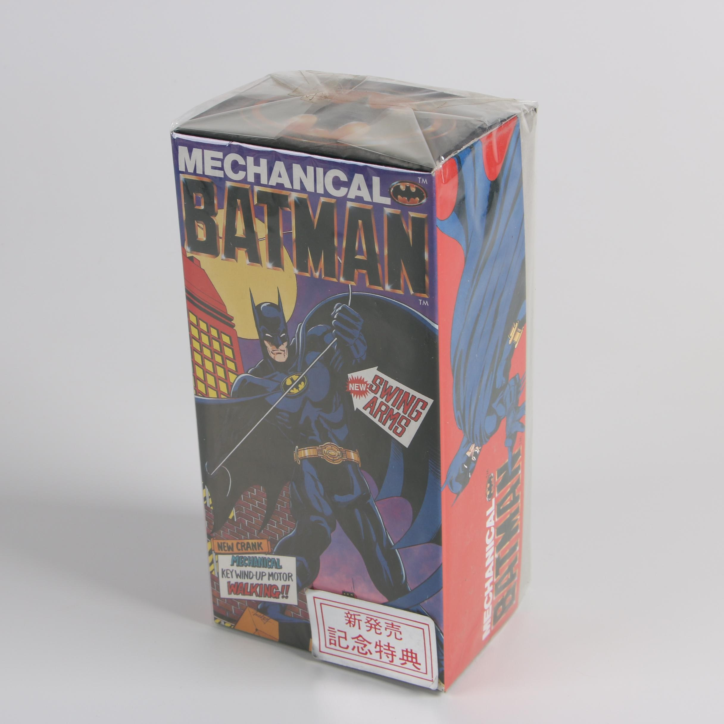 1989 DC Comics Billikin Mechanical Walking Batman