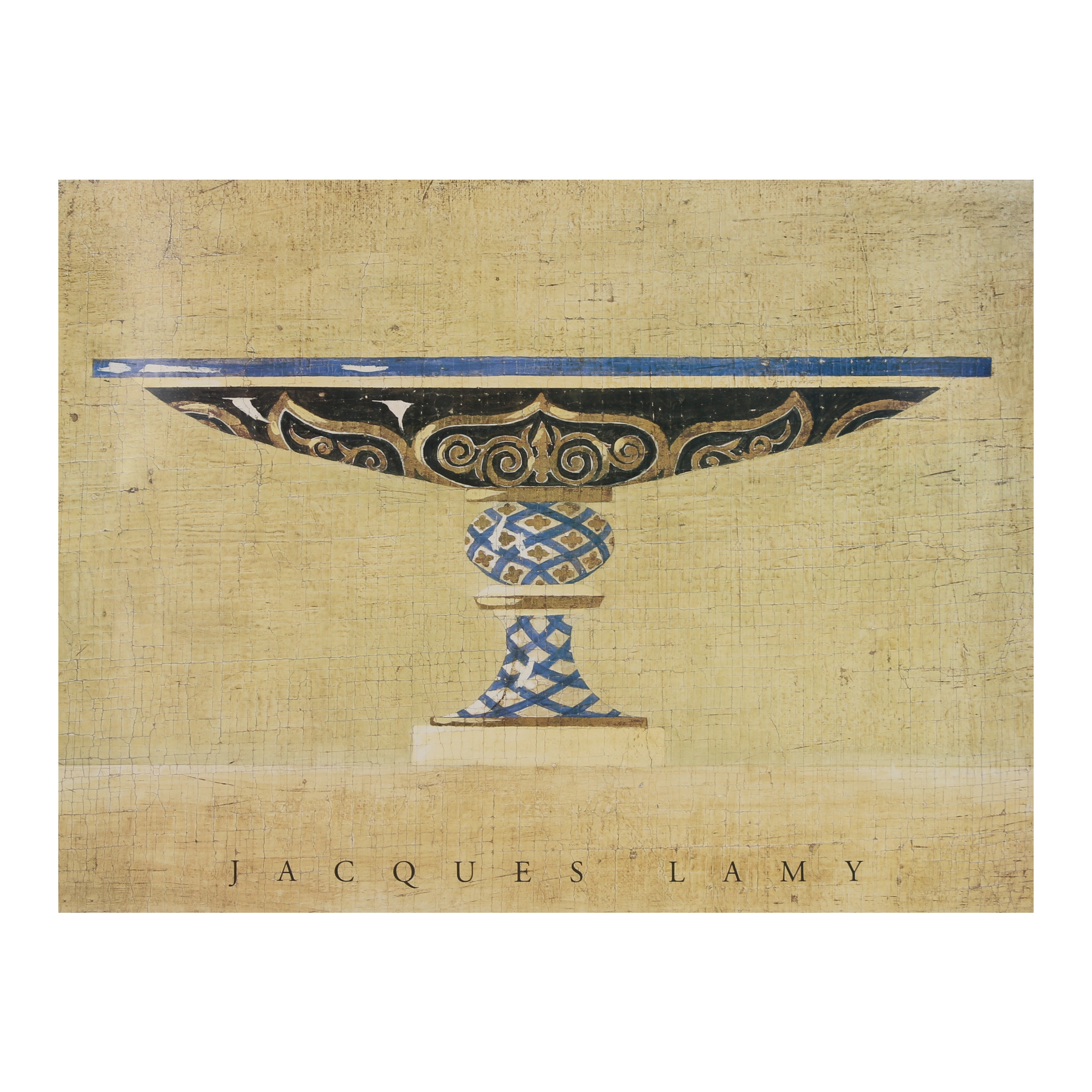 """Offset Lithograph Poster After Jacques Lamy """"Cleopatra"""""""