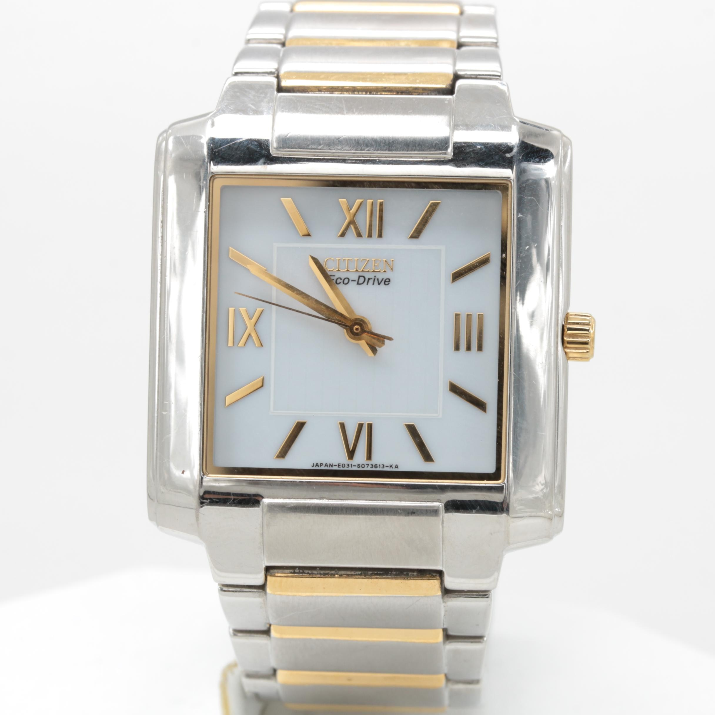 Citizen Eco-Drive Stainless Steel Wristwatch