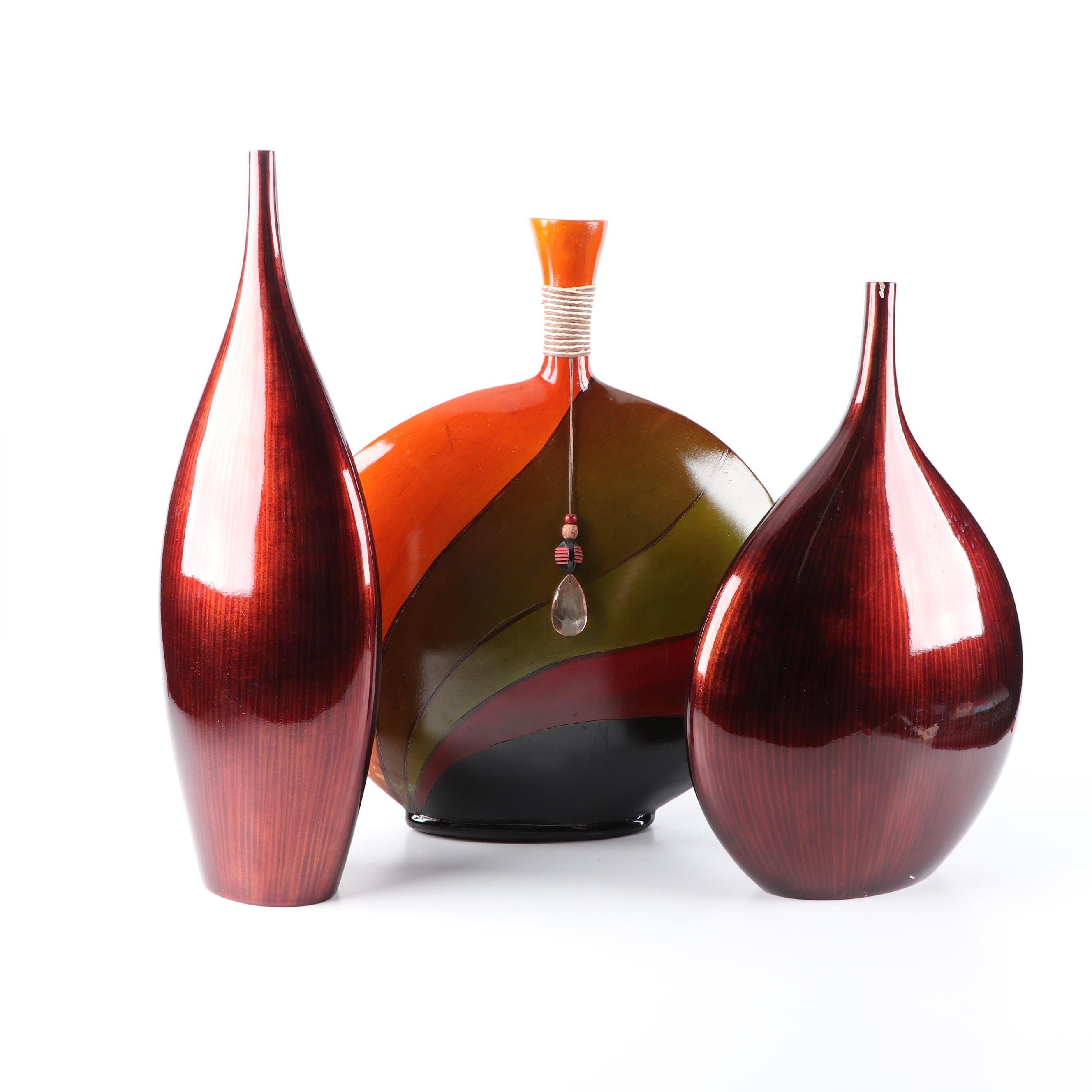 Decorative Vases including LP Designs