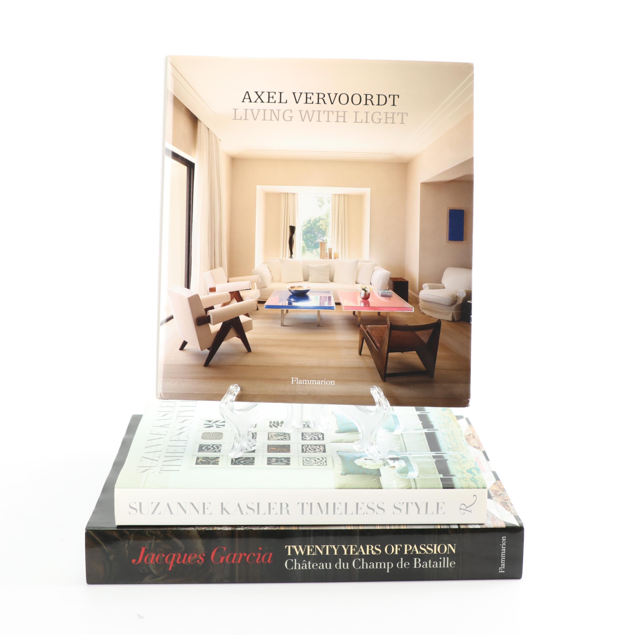 "2010s Interior Design Books including ""Twenty Years of Passion"""